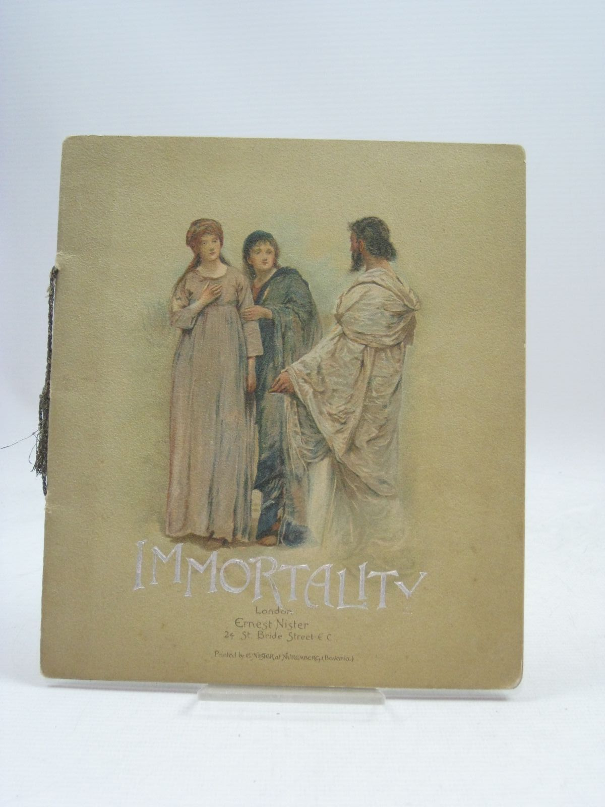 Photo of IMMORTALITY written by Reed, Alice published by Ernest Nister (STOCK CODE: 1506078)  for sale by Stella & Rose's Books