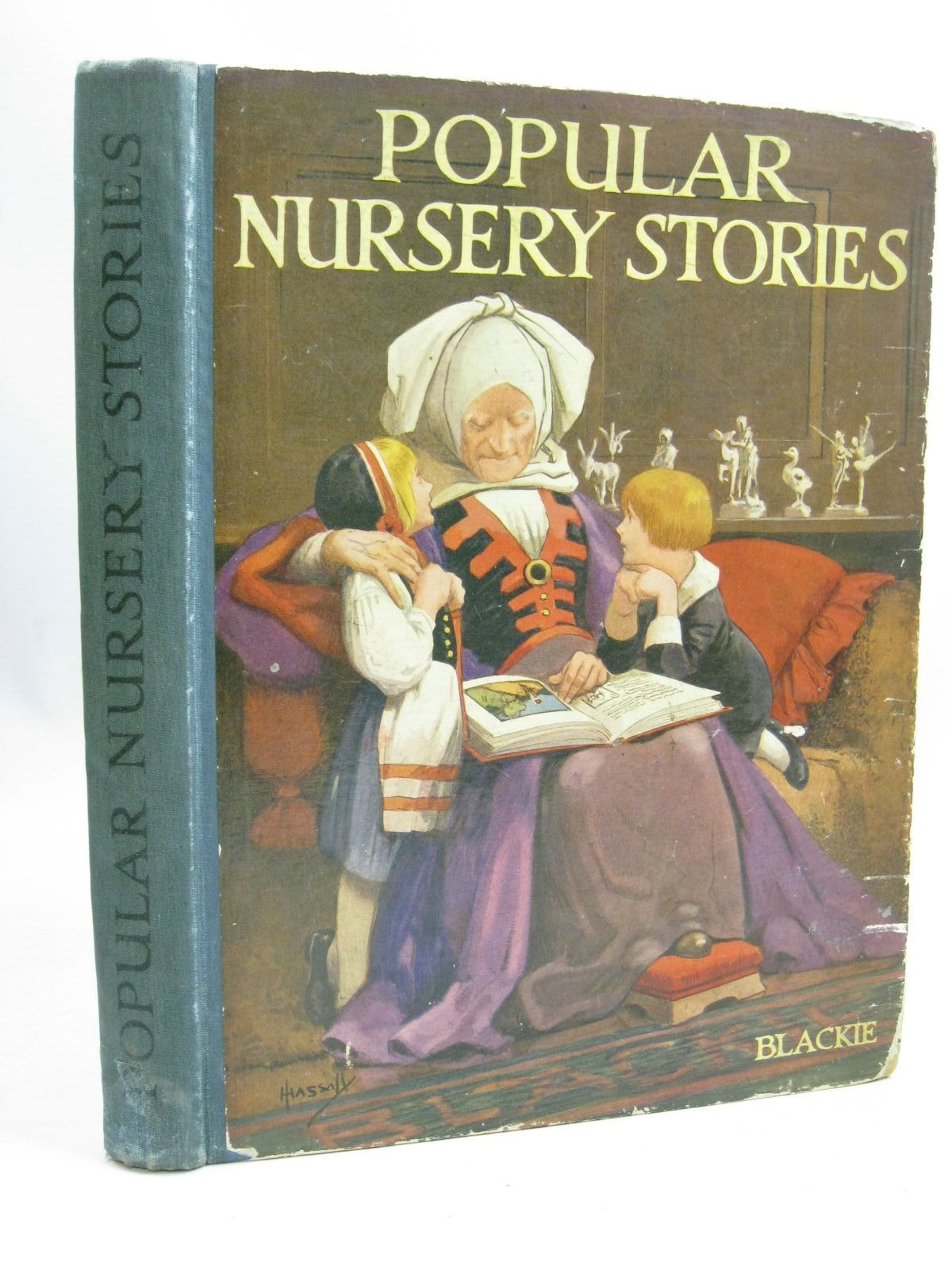 Photo of BLACKIE'S POPULAR NURSERY STORIES- Stock Number: 1506098