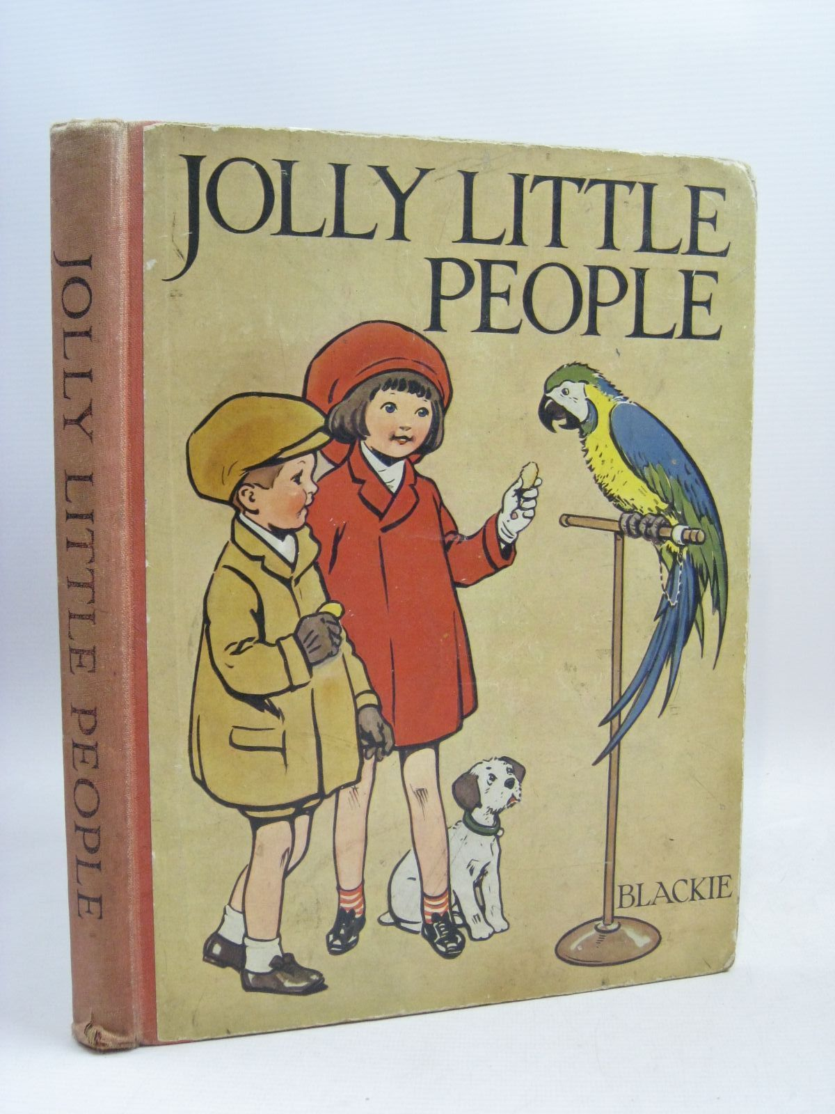 Photo of JOLLY LITTLE PEOPLE illustrated by Earnshaw, Harold published by Blackie And Son Limited (STOCK CODE: 1506099)  for sale by Stella & Rose's Books