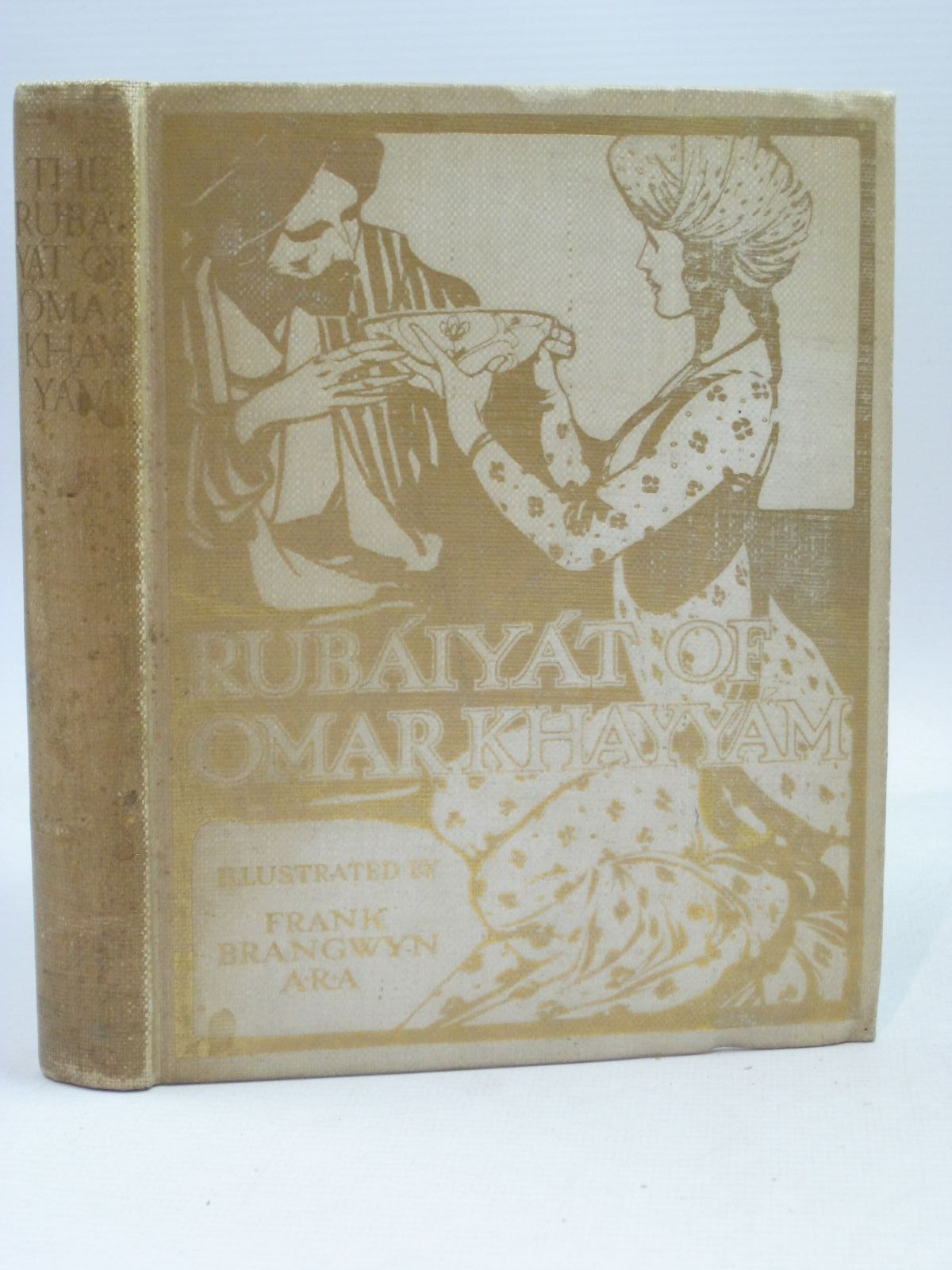 Photo of THE RUBAIYAT OF OMAR KHAYYAM written by Khayyam, Omar Fitzgerald, Edward illustrated by Brangwyn, Frank published by T. N. Foulis (STOCK CODE: 1506170)  for sale by Stella & Rose's Books