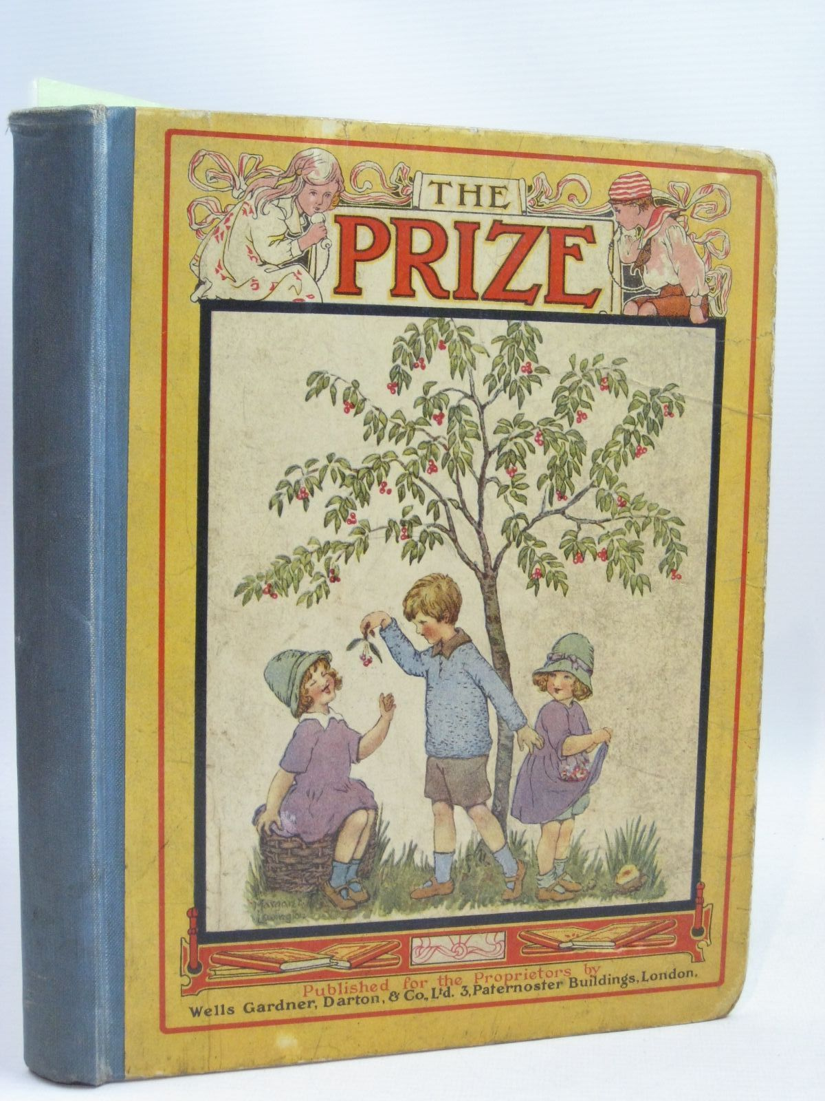 Photo of THE PRIZE FOR GIRLS AND BOYS VOL 65 written by Skae, Hilda T. Bennett, F.J.S. et al, illustrated by Peacock, Mabel Slade, Marjorie Robinson, Gordon Barham, Winifred Mercer, Joyce et al., published by Wells Gardner, Darton & Co. Ltd. (STOCK CODE: 1506240)  for sale by Stella & Rose's Books