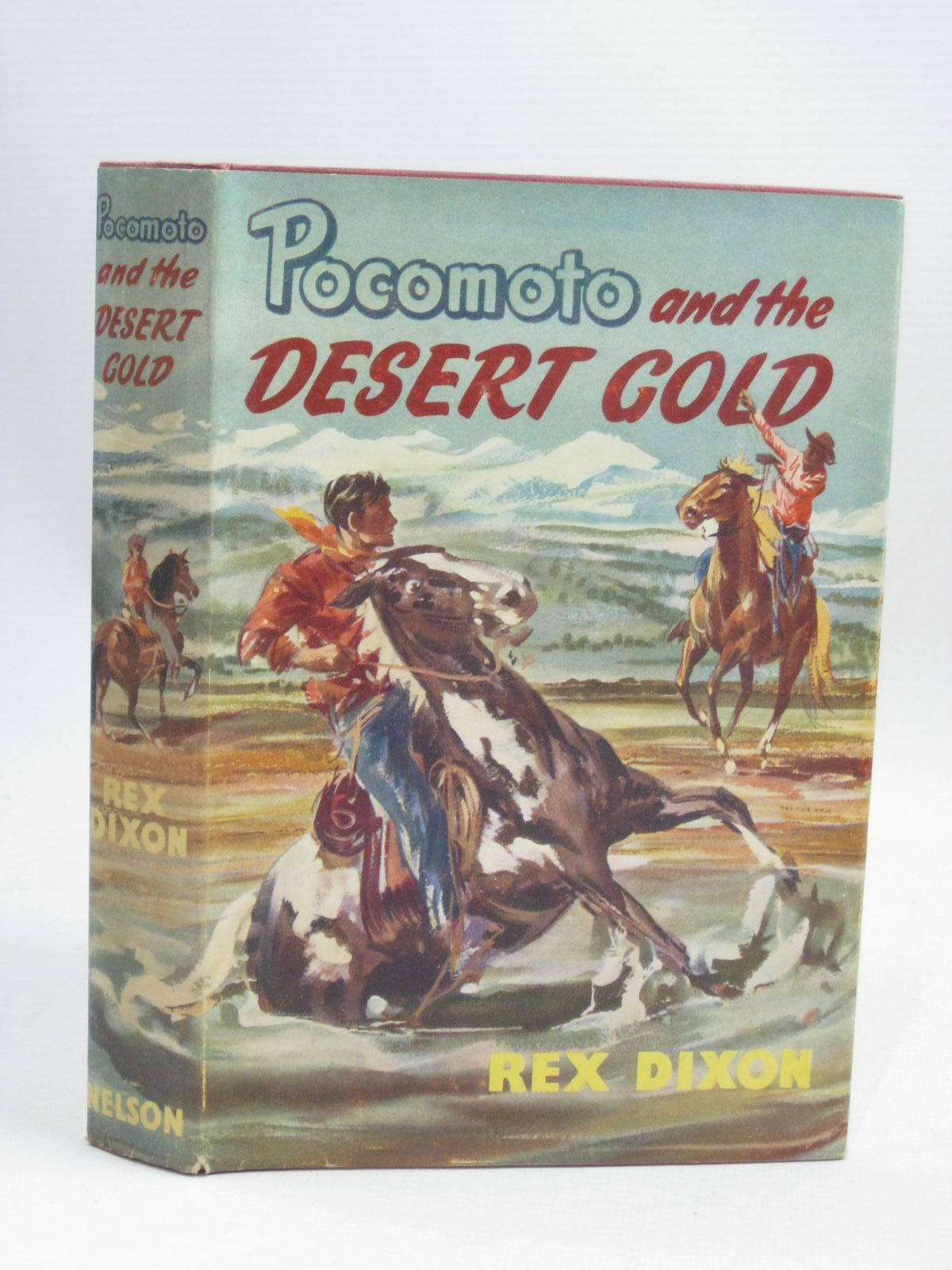 Photo of POCOMOTO AND THE DESERT GOLD written by Dixon, Rex illustrated by Hodgson, Robert published by Thomas Nelson & Sons (STOCK CODE: 1506266)  for sale by Stella & Rose's Books