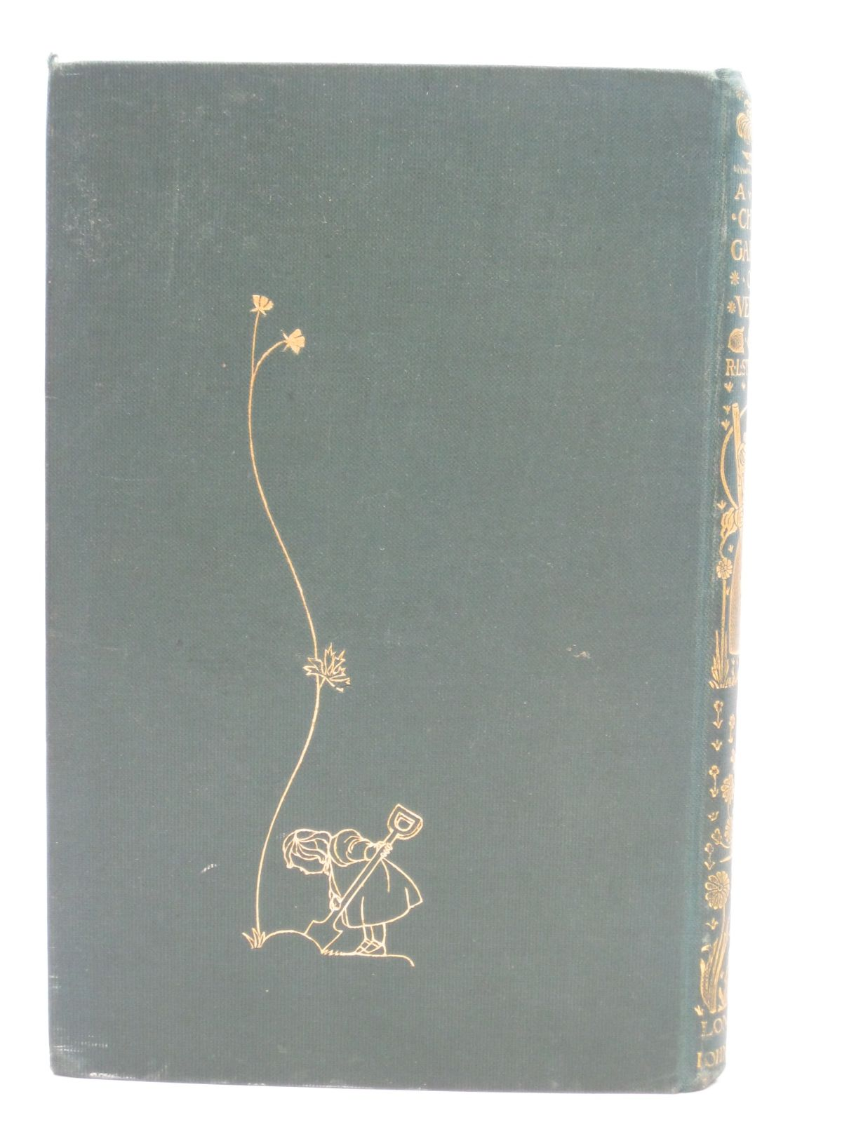 Photo of A CHILD'S GARDEN OF VERSES written by Stevenson, Robert Louis illustrated by Robinson, Charles published by John Lane The Bodley Head (STOCK CODE: 1506420)  for sale by Stella & Rose's Books