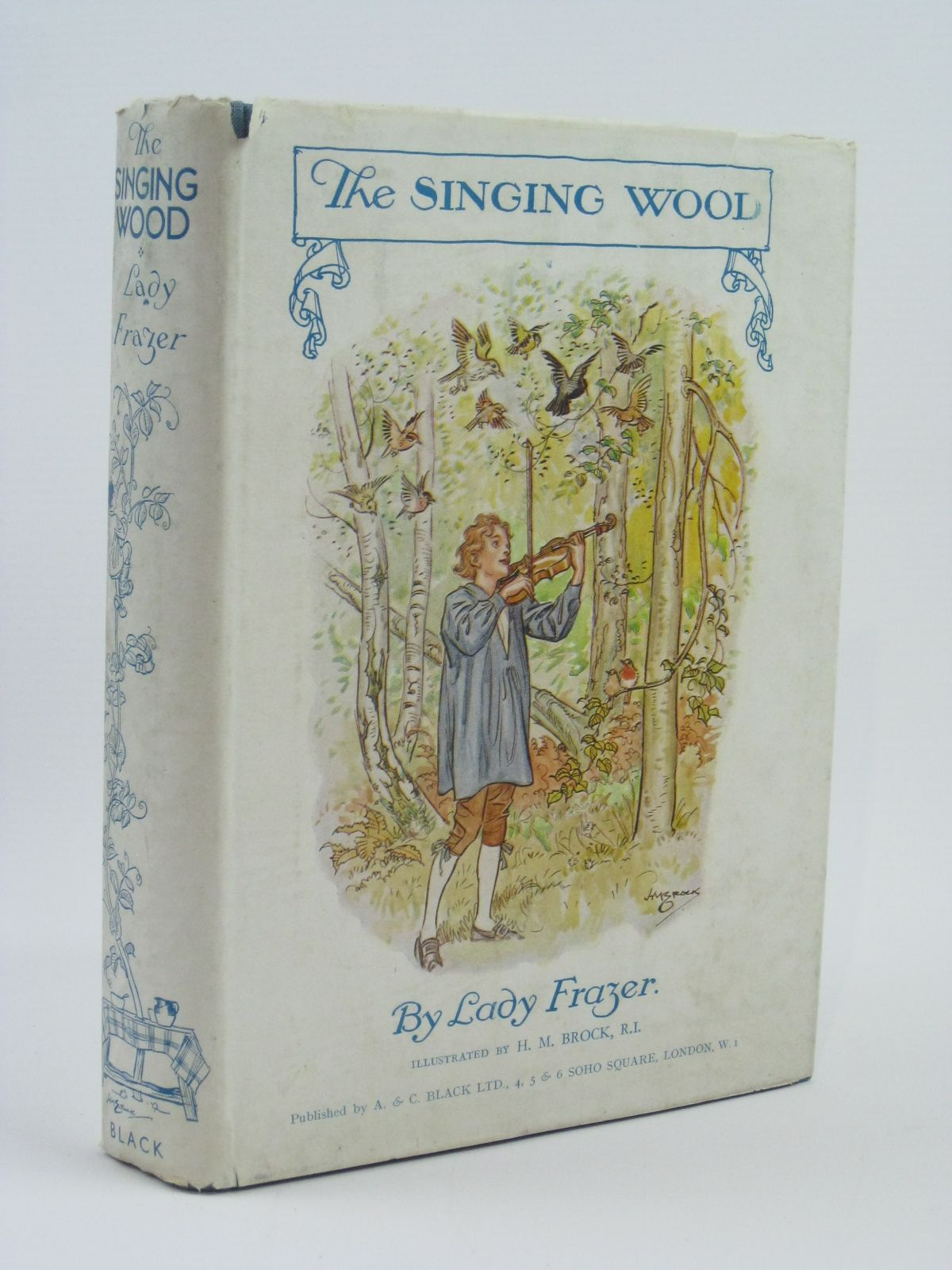 Photo of THE SINGING WOOD written by Frazer, Lady illustrated by Brock, H.M. published by A. & C. Black Ltd. (STOCK CODE: 1506504)  for sale by Stella & Rose's Books