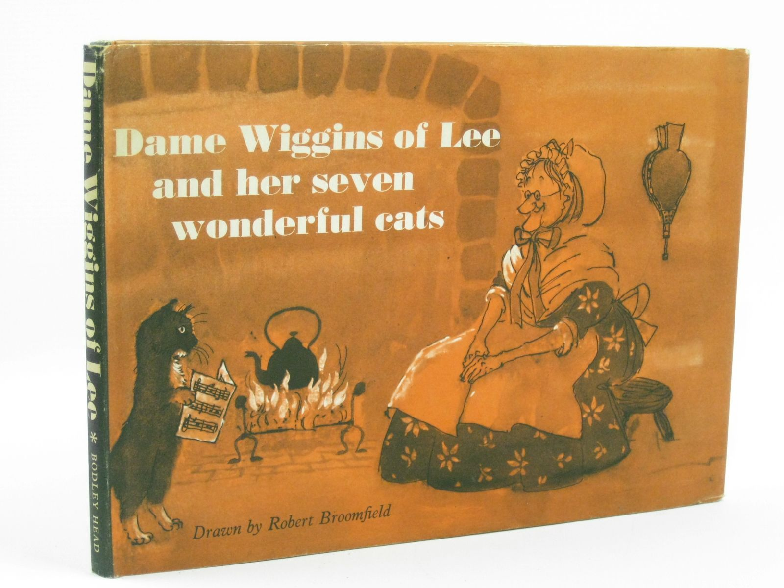 Photo of DAME WIGGINS OF LEE AND HER SEVEN WONDERFUL CATS written by Ruskin, John illustrated by Broomfield, Robert published by The Bodley Head (STOCK CODE: 1506506)  for sale by Stella & Rose's Books