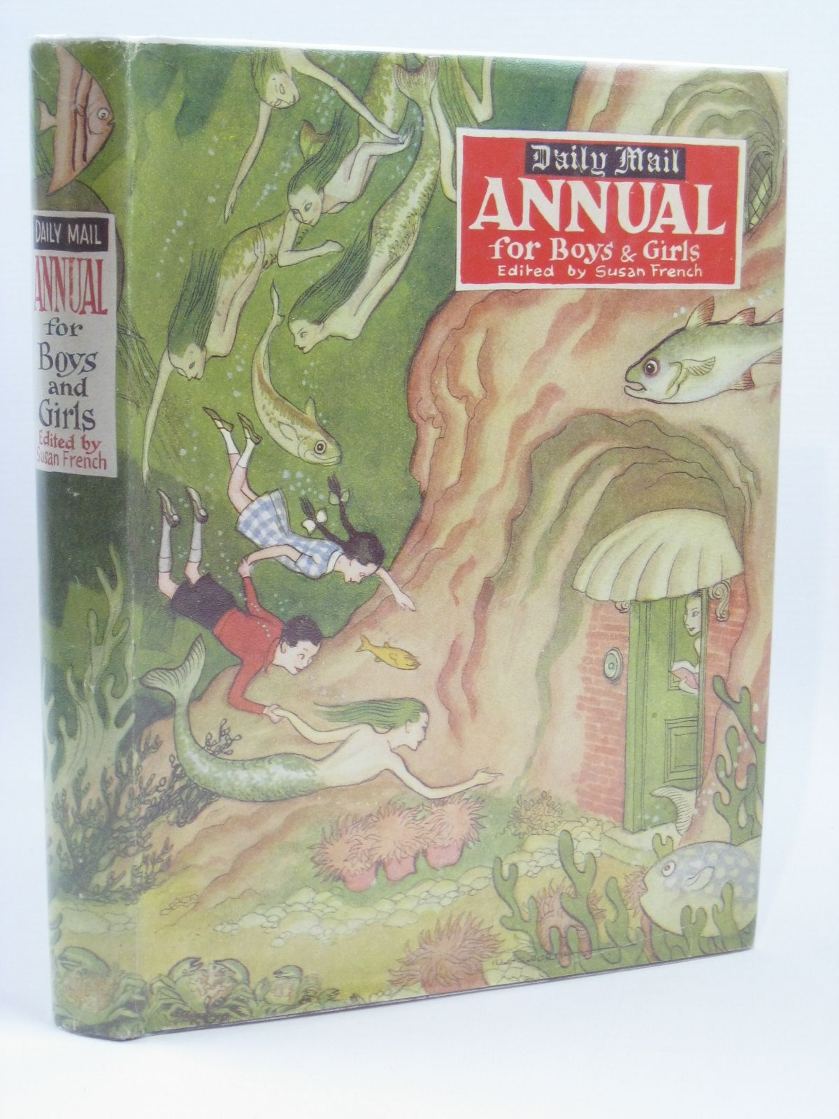 Photo of DAILY MAIL ANNUAL FOR BOYS AND GIRLS written by French, Susan Blyton, Enid et al,  published by Daily Mail (STOCK CODE: 1506538)  for sale by Stella & Rose's Books