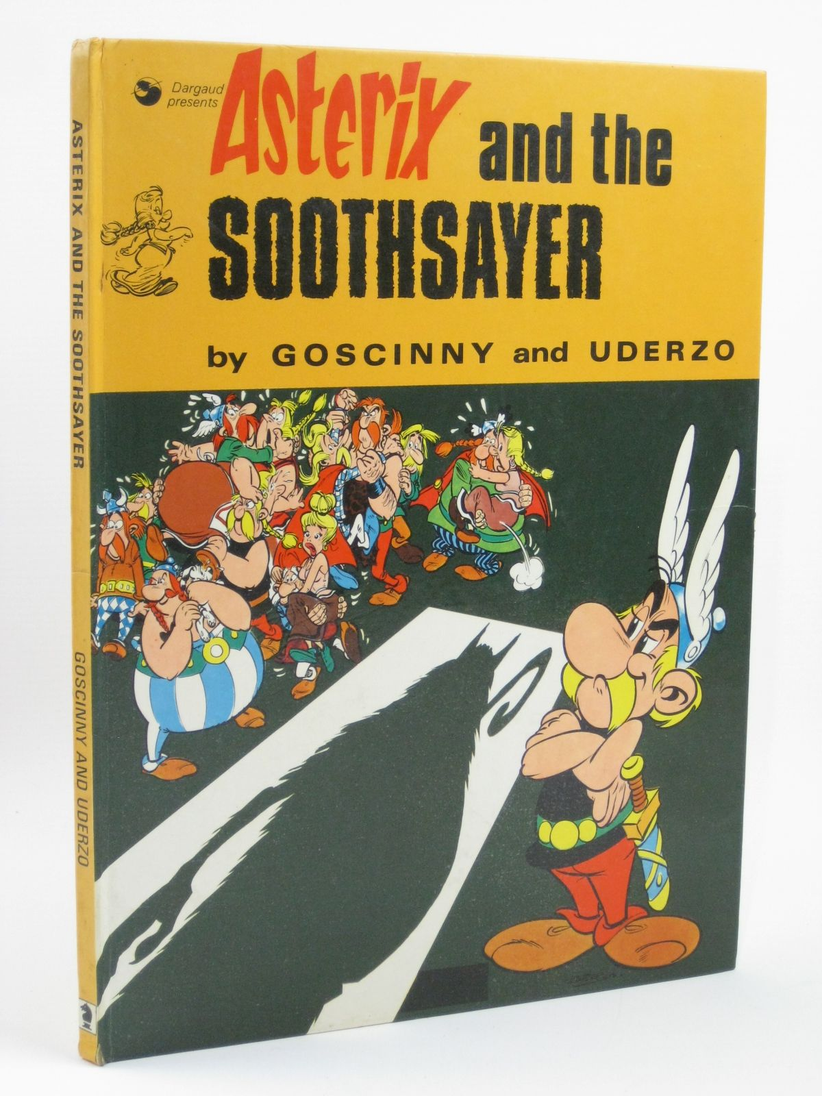 Photo of ASTERIX AND THE SOOTHSAYER written by Goscinny, Rene illustrated by Uderzo, Albert published by Brockhampton Press (STOCK CODE: 1506573)  for sale by Stella & Rose's Books