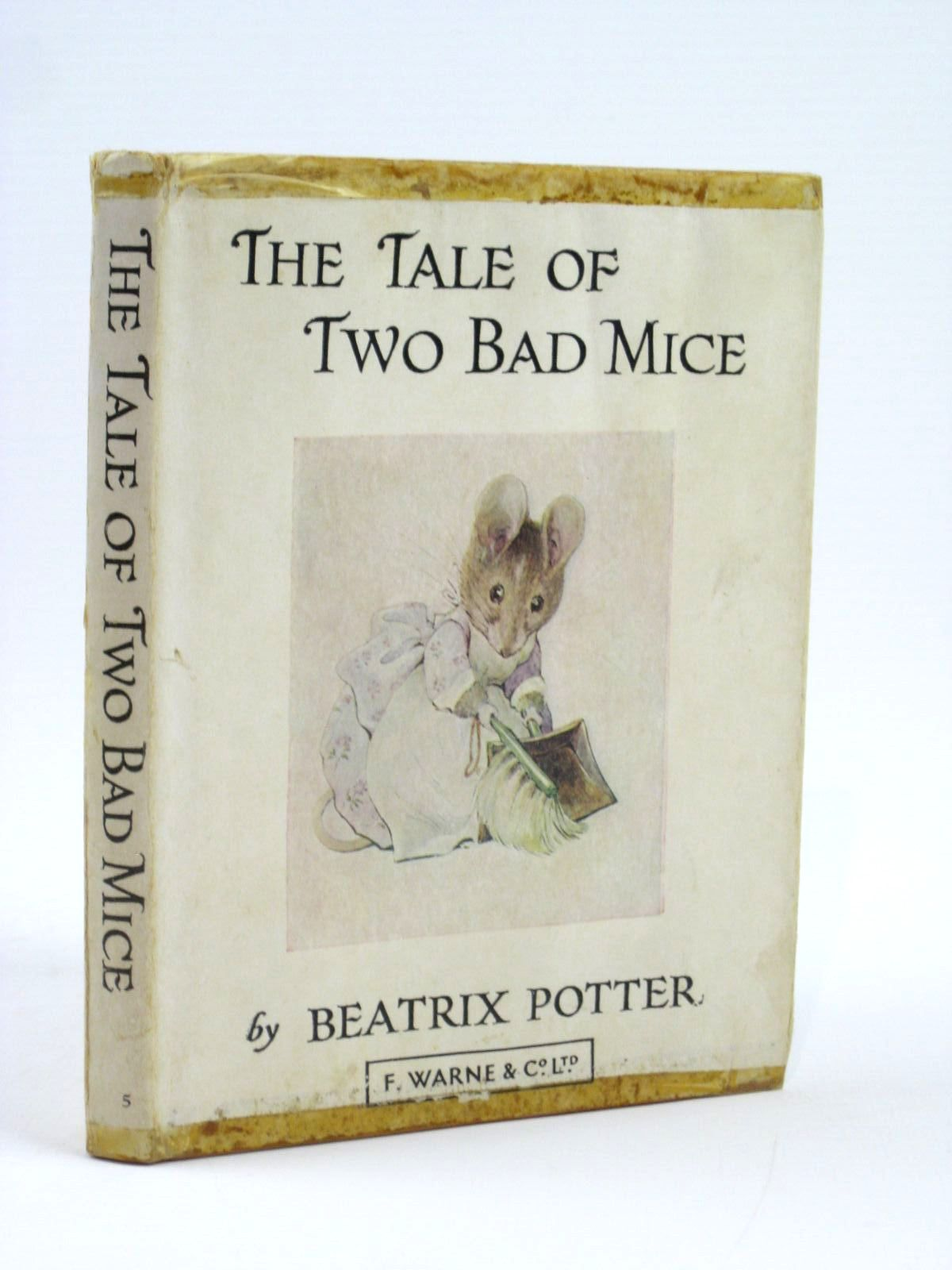 Photo of THE TALE OF TWO BAD MICE written by Potter, Beatrix illustrated by Potter, Beatrix published by Frederick Warne & Co Ltd. (STOCK CODE: 1506601)  for sale by Stella & Rose's Books