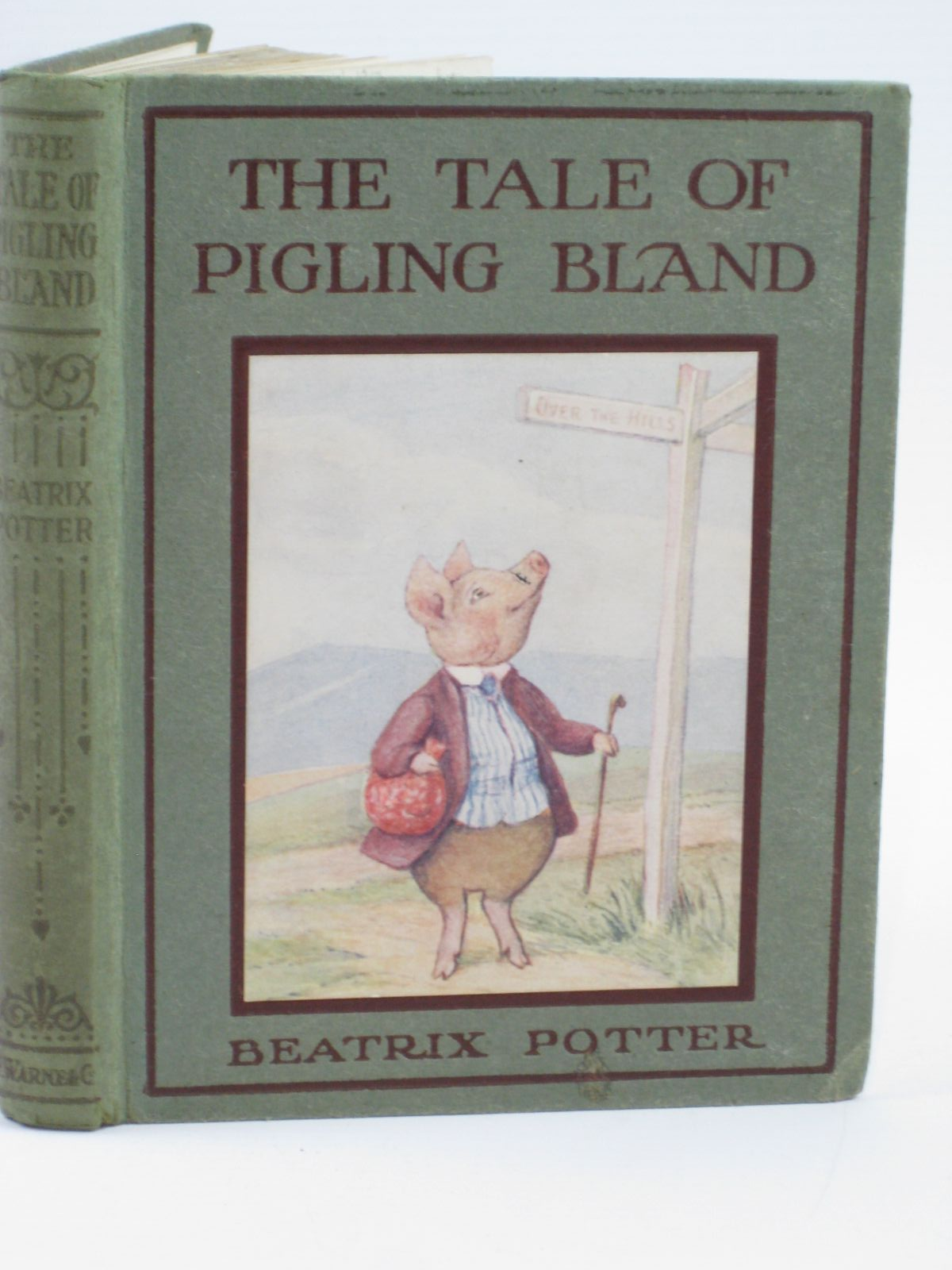 Photo of THE TALE OF PIGLING BLAND written by Potter, Beatrix illustrated by Potter, Beatrix published by Frederick Warne & Co. (STOCK CODE: 1506620)  for sale by Stella & Rose's Books