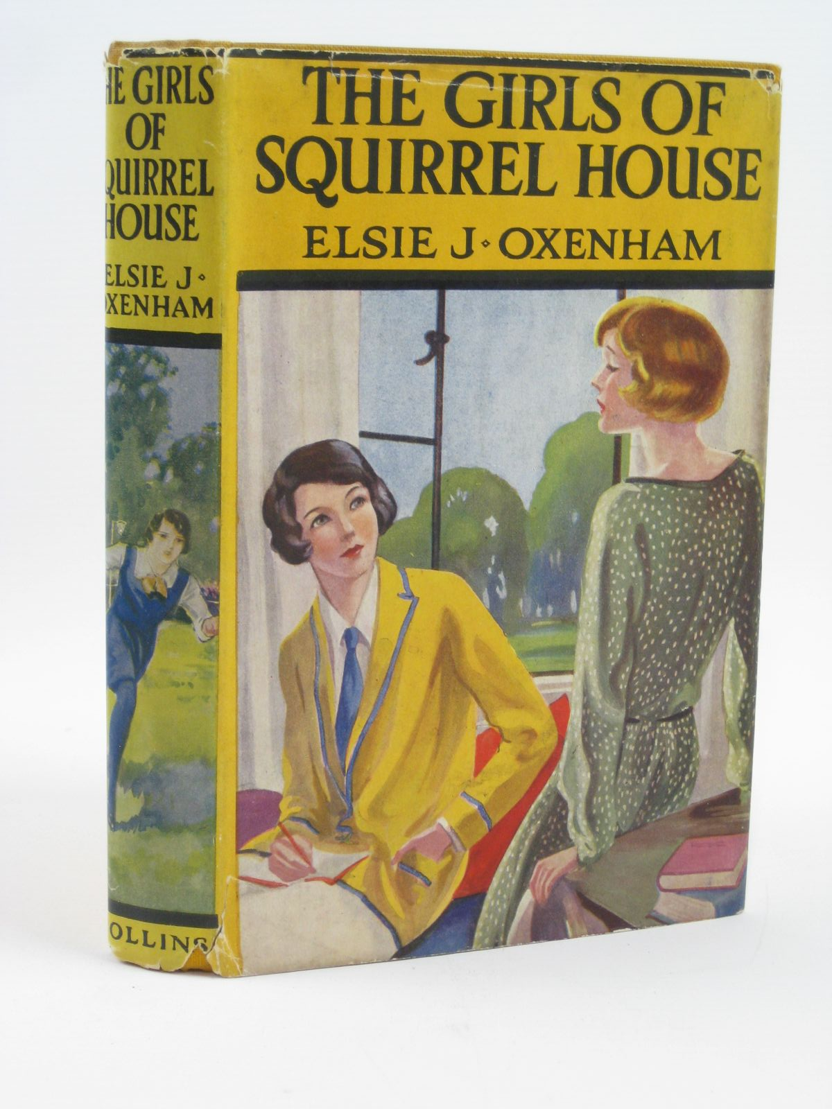Photo of THE GIRLS OF SQUIRREL HOUSE written by Oxenham, Elsie J. published by Collins Clear-Type Press (STOCK CODE: 1506623)  for sale by Stella & Rose's Books