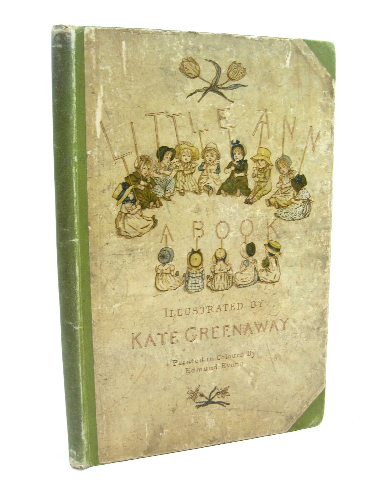 Photo of LITTLE ANN AND OTHER POEMS written by Taylor, Jane Taylor, Ann illustrated by Greenaway, Kate published by George Routledge & Sons (STOCK CODE: 1506651)  for sale by Stella & Rose's Books