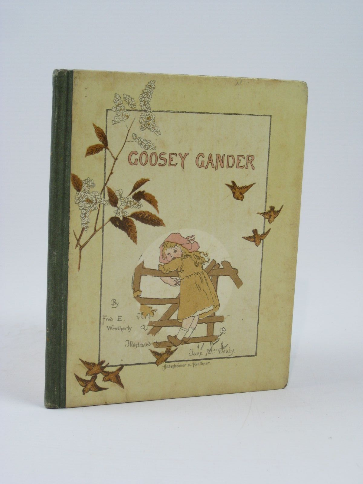 Photo of GOOSEY GANDER written by Weatherly, F.E. illustrated by Dealy, Jane M. published by Hildesheimer & Faulkner (STOCK CODE: 1506756)  for sale by Stella & Rose's Books