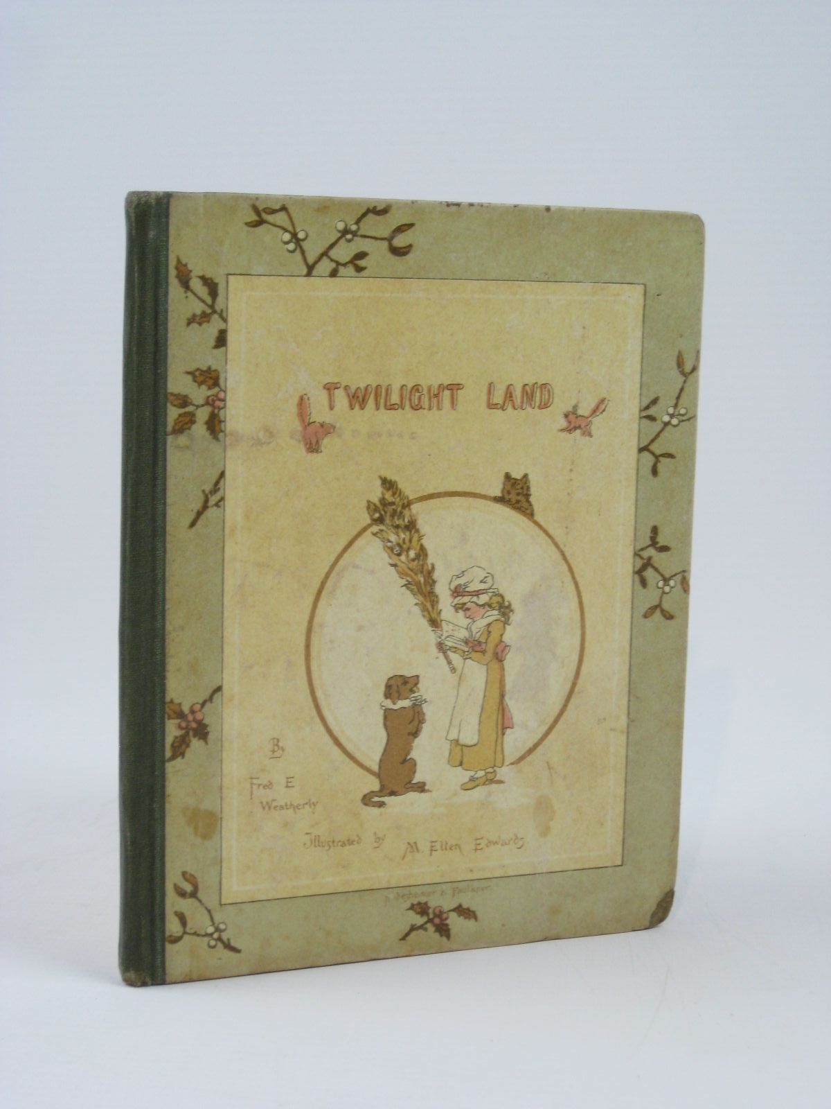 Photo of TWILIGHT LAND written by Weatherly, F.E. illustrated by Edwards, M. Ellen Staples, John C. published by Hildesheimer & Faulkner (STOCK CODE: 1506757)  for sale by Stella & Rose's Books