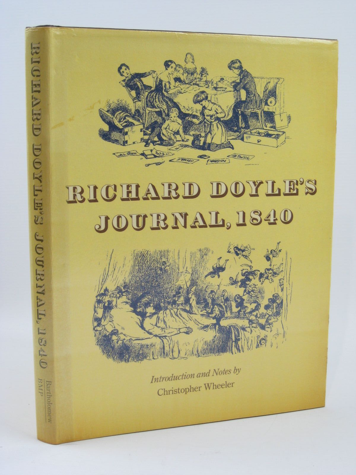 Photo of RICHARD DOYLE'S JOURNAL 1840 written by Doyle, Richard Wheeler, Christopher illustrated by Doyle, Richard published by John Bartholomew & Son Limited (STOCK CODE: 1506855)  for sale by Stella & Rose's Books