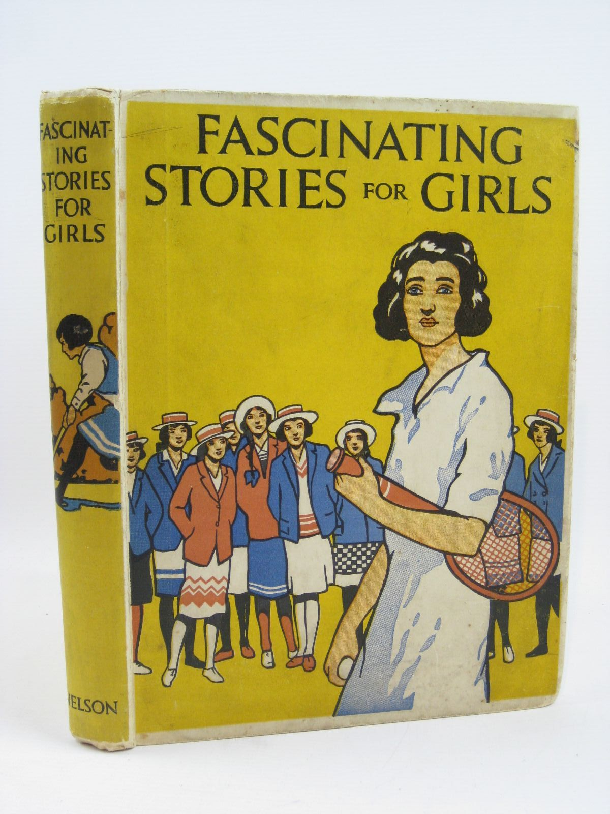 Photo of FASCINATING STORIES FOR GIRLS written by Herbertson, Jessie Leckie<br />Talbot, Ethel<br />Shrewsbury, Mary<br />Todd, Barbara E.<br />et al,  illustrated by Hiley, Francis E.<br />Studdy, G.E.<br />et al.,  published by Thomas Nelson and Sons Ltd. (STOCK CODE: 1506871)  for sale by Stella & Rose's Books