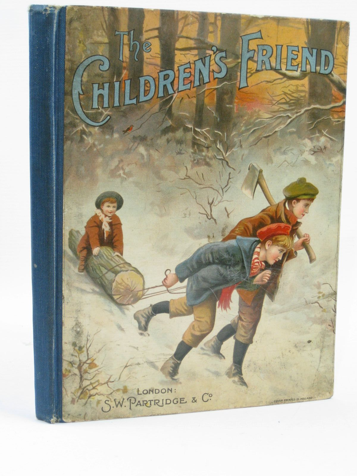 Photo of THE CHILDREN'S FRIEND VOLUME XLVI - 1907 written by Holderness Gale, F. Brown, J. Howard Stooke, Eleanora H. et al, illustrated by Wain, Louis Macgregor, Angusine Roberts, Katharine M. et al., published by S.W. Partridge & Co. (STOCK CODE: 1506904)  for sale by Stella & Rose's Books