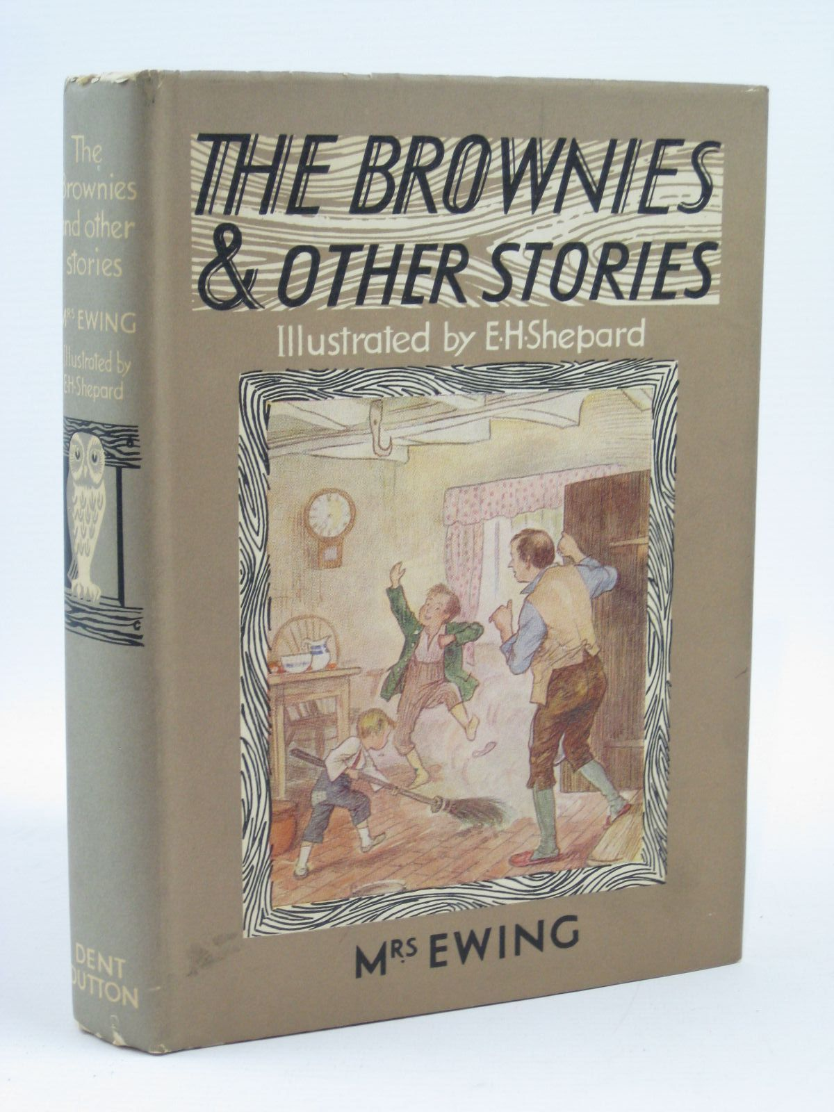 Photo of THE BROWNIES AND OTHER STORIES written by Ewing, Juliana Horatia illustrated by Shepard, E.H. published by J.M. Dent & Sons Ltd. (STOCK CODE: 1506918)  for sale by Stella & Rose's Books