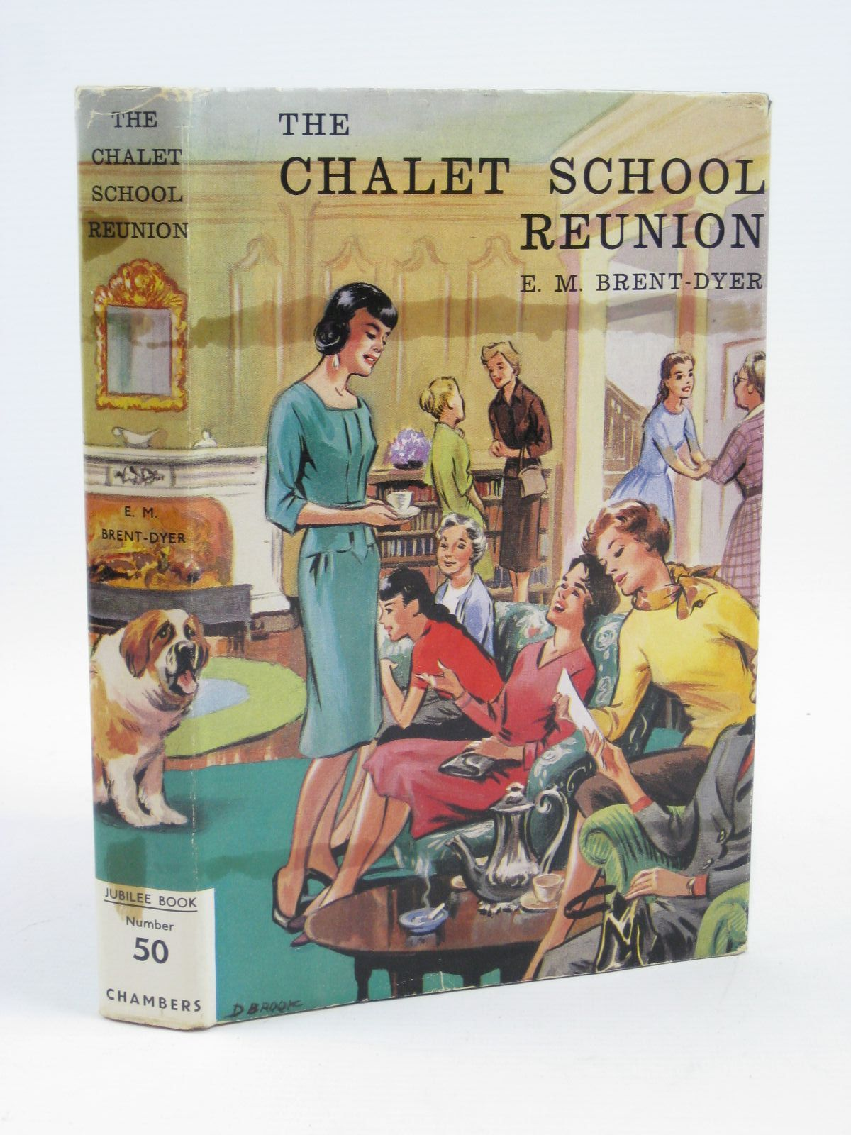 Photo of THE CHALET SCHOOL REUNION written by Brent-Dyer, Elinor M. illustrated by Brook, Dorothy published by W. & R. Chambers Limited (STOCK CODE: 1506954)  for sale by Stella & Rose's Books