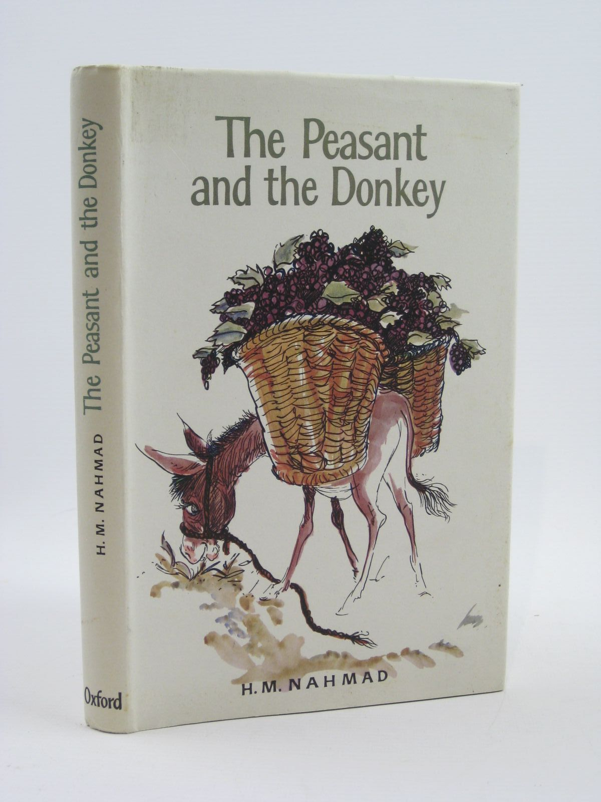 Photo of THE PEASANT AND THE DONKEY written by Nahmad, H.M. illustrated by Papas, William published by Oxford University Press (STOCK CODE: 1507115)  for sale by Stella & Rose's Books
