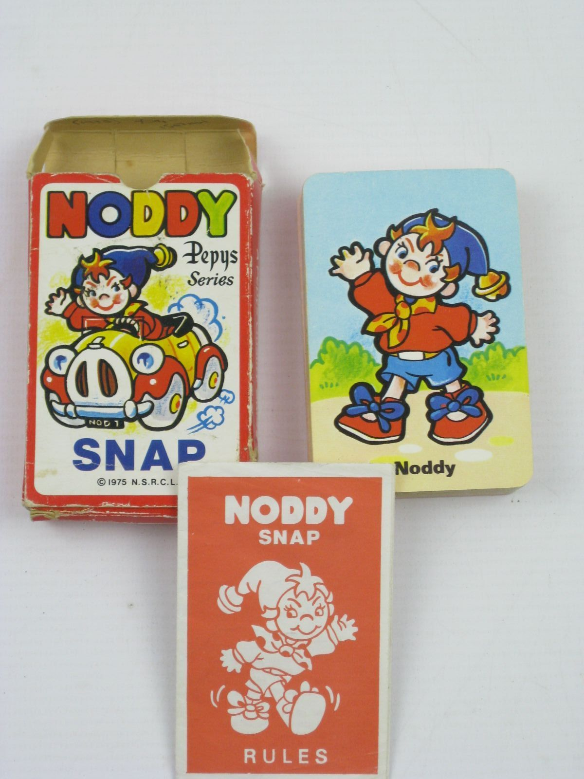 Photo of NODDY SNAP CARDS written by Blyton, Enid published by T.J. & J. Smith Limited (STOCK CODE: 1507141)  for sale by Stella & Rose's Books