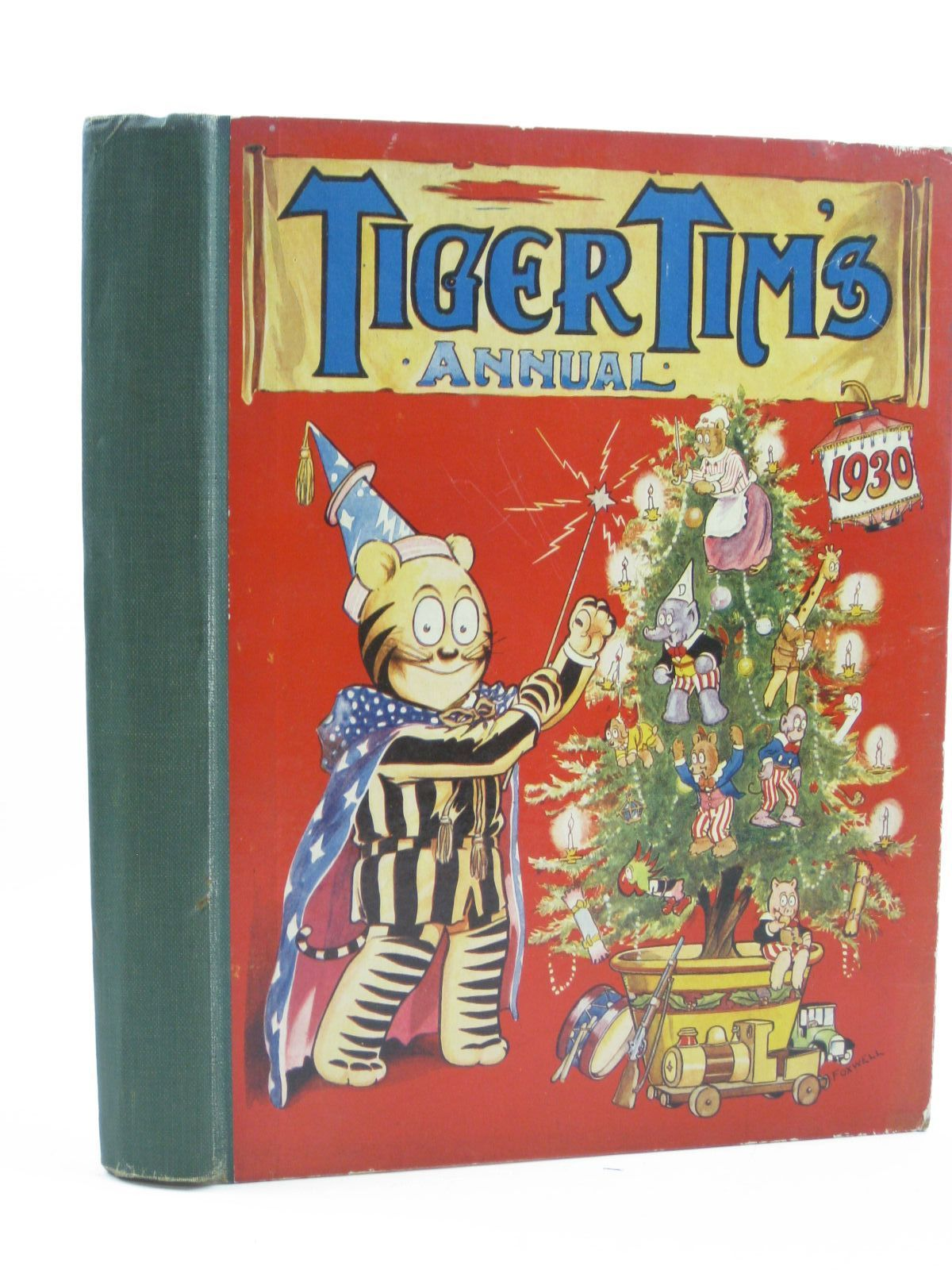 Photo of TIGER TIM'S ANNUAL 1930 published by The Amalgamated Press (STOCK CODE: 1507146)  for sale by Stella & Rose's Books