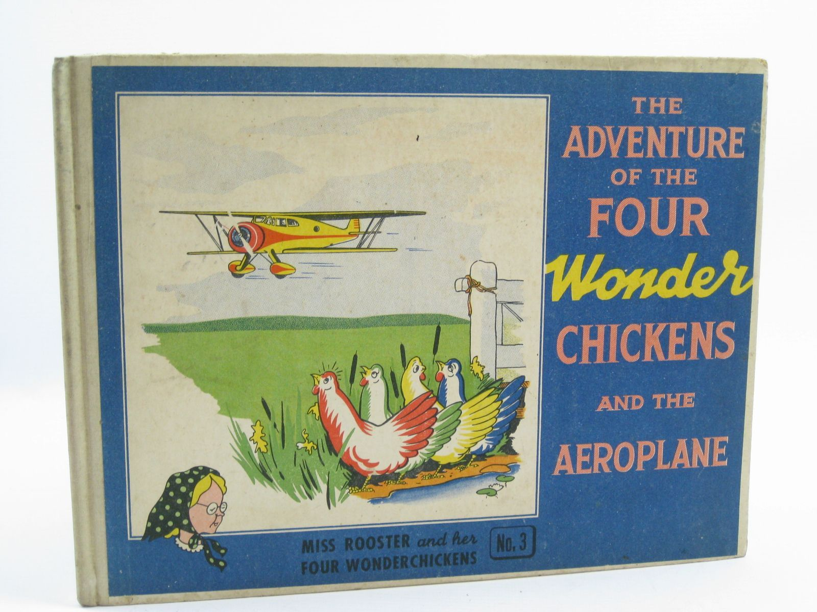 Photo of THE ADVENTURE OF THE FOUR WONDER CHICKENS AND THE AEROPLANE written by Kok, B. illustrated by Kok, B.<br />Looy, R.V. published by Arthur Barron Ltd. (STOCK CODE: 1507201)  for sale by Stella & Rose's Books