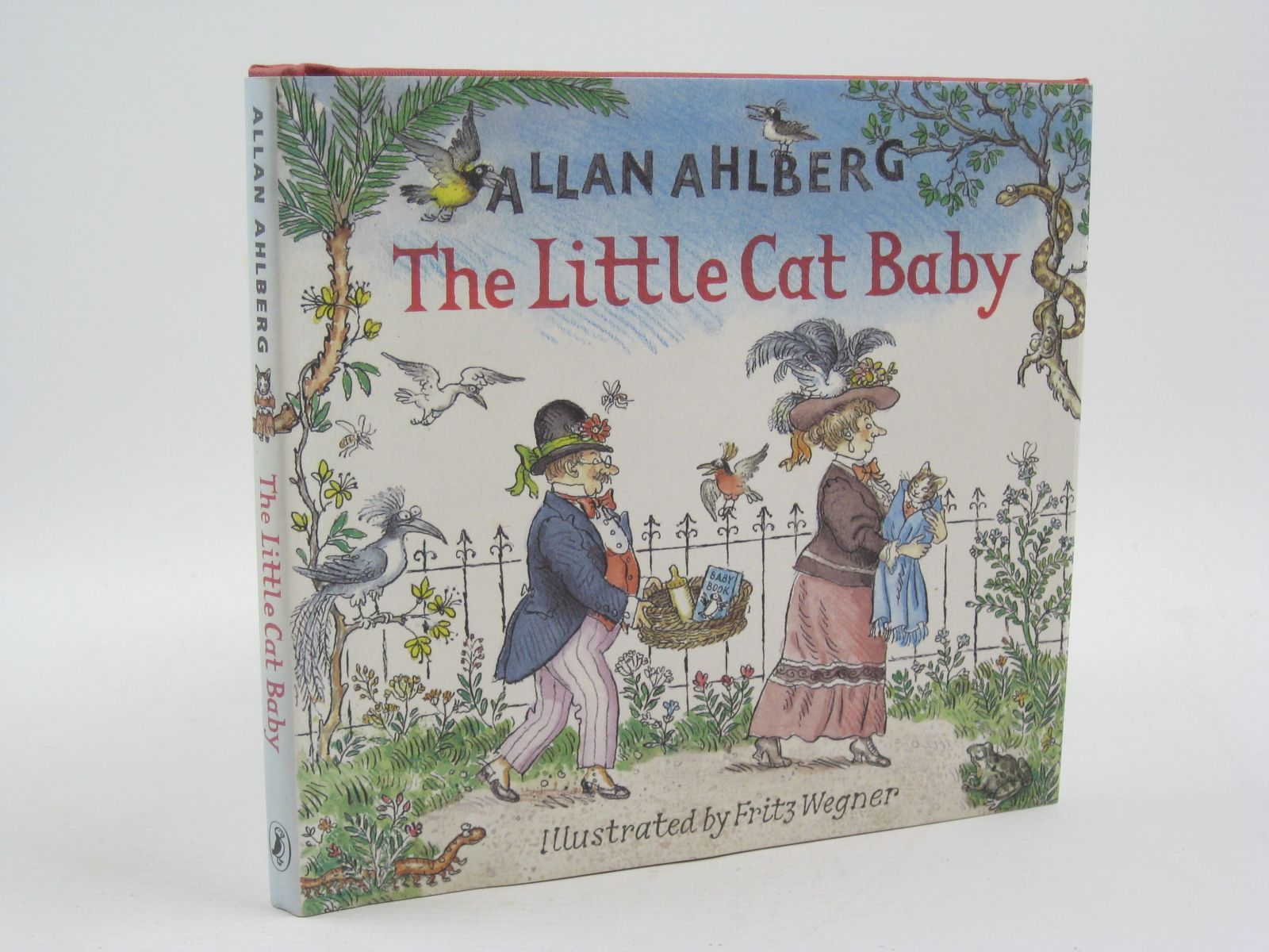 Photo of THE LITTLE CAT BABY written by Ahlberg, Allan illustrated by Wegner, Fritz published by Puffin (STOCK CODE: 1507244)  for sale by Stella & Rose's Books