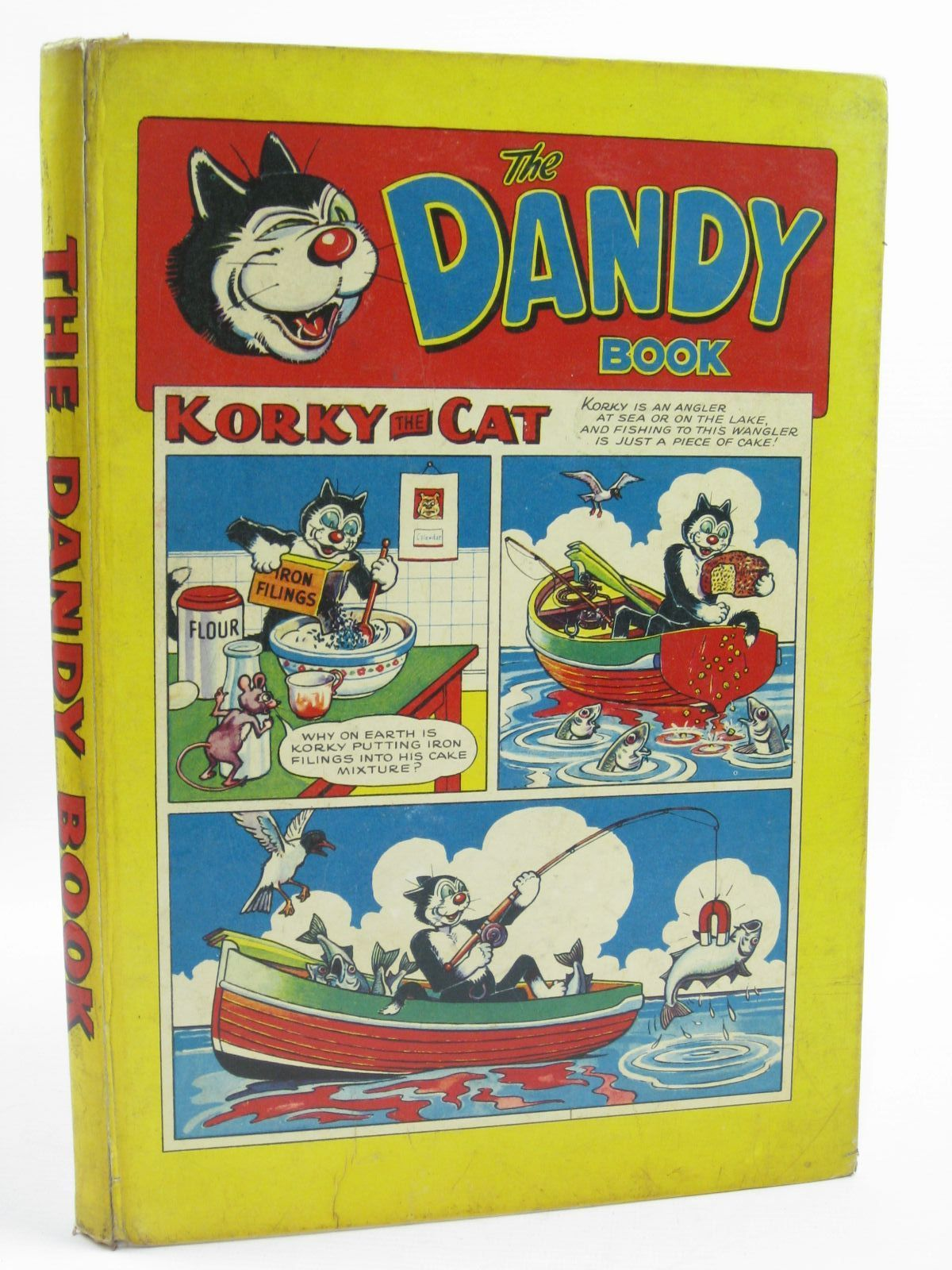 Photo of THE DANDY BOOK 1958 published by D.C. Thomson & Co Ltd. (STOCK CODE: 1507261)  for sale by Stella & Rose's Books