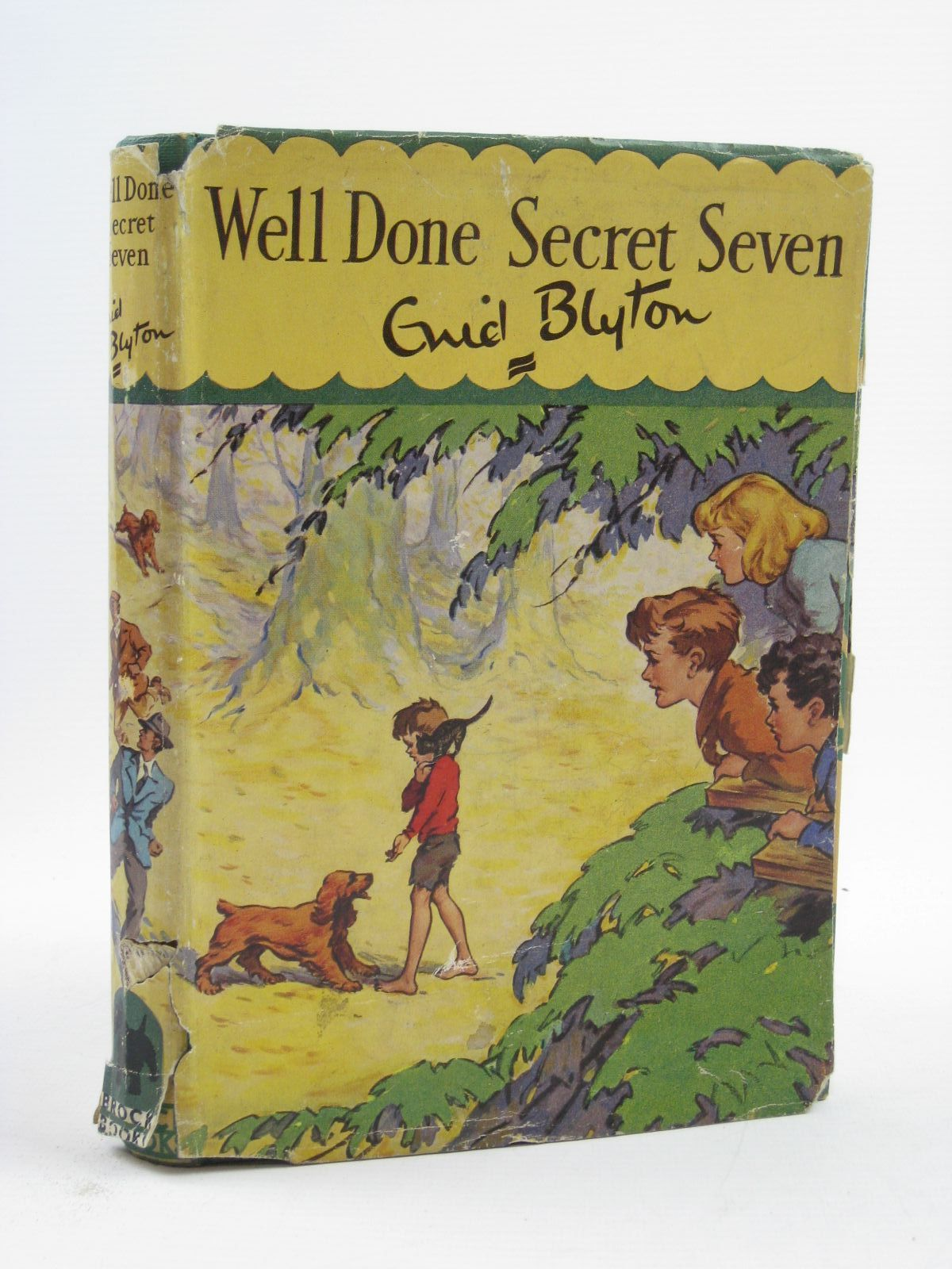Photo of WELL DONE SECRET SEVEN written by Blyton, Enid illustrated by Brook, George published by Brockhampton Press Ltd. (STOCK CODE: 1507308)  for sale by Stella & Rose's Books