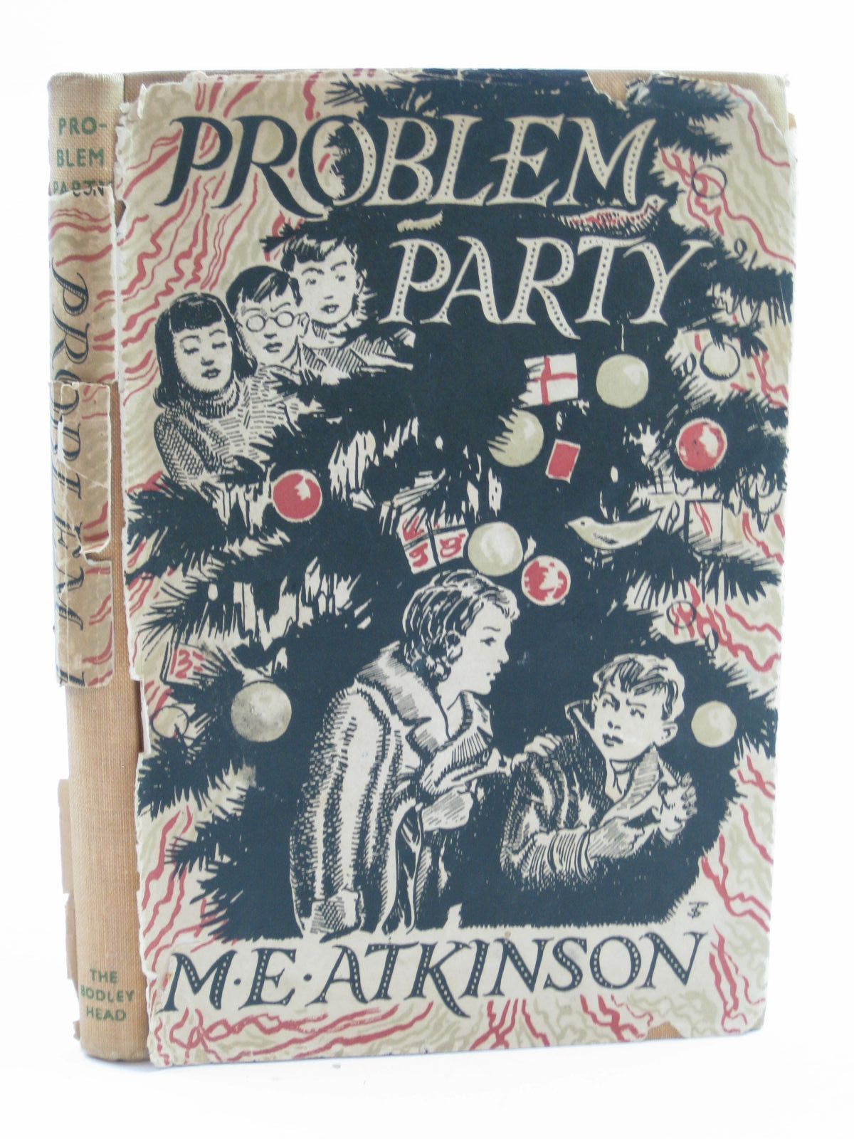 Photo of PROBLEM PARTY written by Atkinson, M.E. illustrated by Tresilian, Stuart published by John Lane The Bodley Head (STOCK CODE: 1507346)  for sale by Stella & Rose's Books