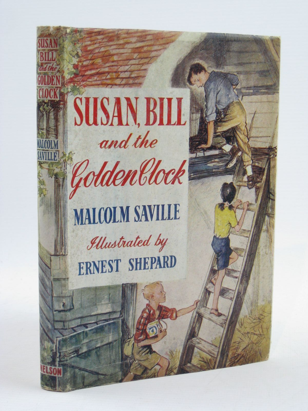 Photo of SUSAN, BILL AND THE GOLDEN CLOCK written by Saville, Malcolm illustrated by Shepard, E.H. published by Thomas Nelson and Sons Ltd. (STOCK CODE: 1507438)  for sale by Stella & Rose's Books