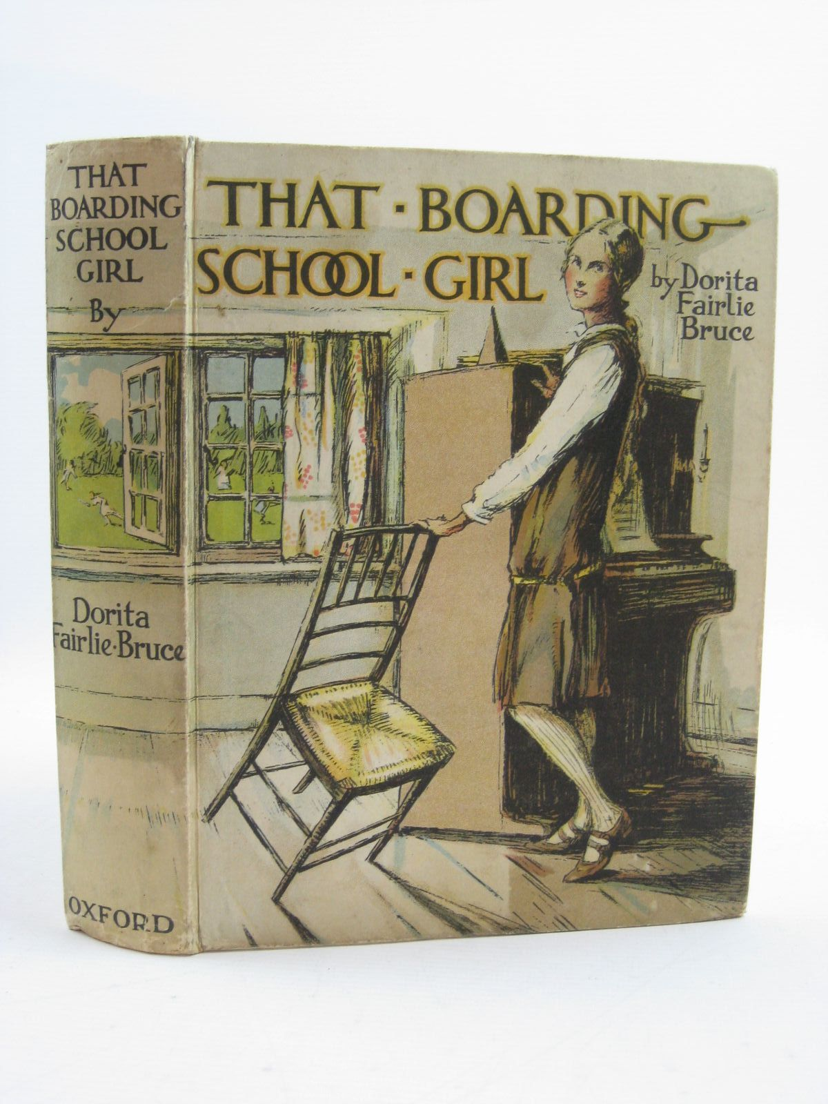 Photo of THAT BOARDING-SCHOOL GIRL written by Bruce, Dorita Fairlie illustrated by Brock, R.H. published by Oxford University Press, Humphrey Milford (STOCK CODE: 1507457)  for sale by Stella & Rose's Books