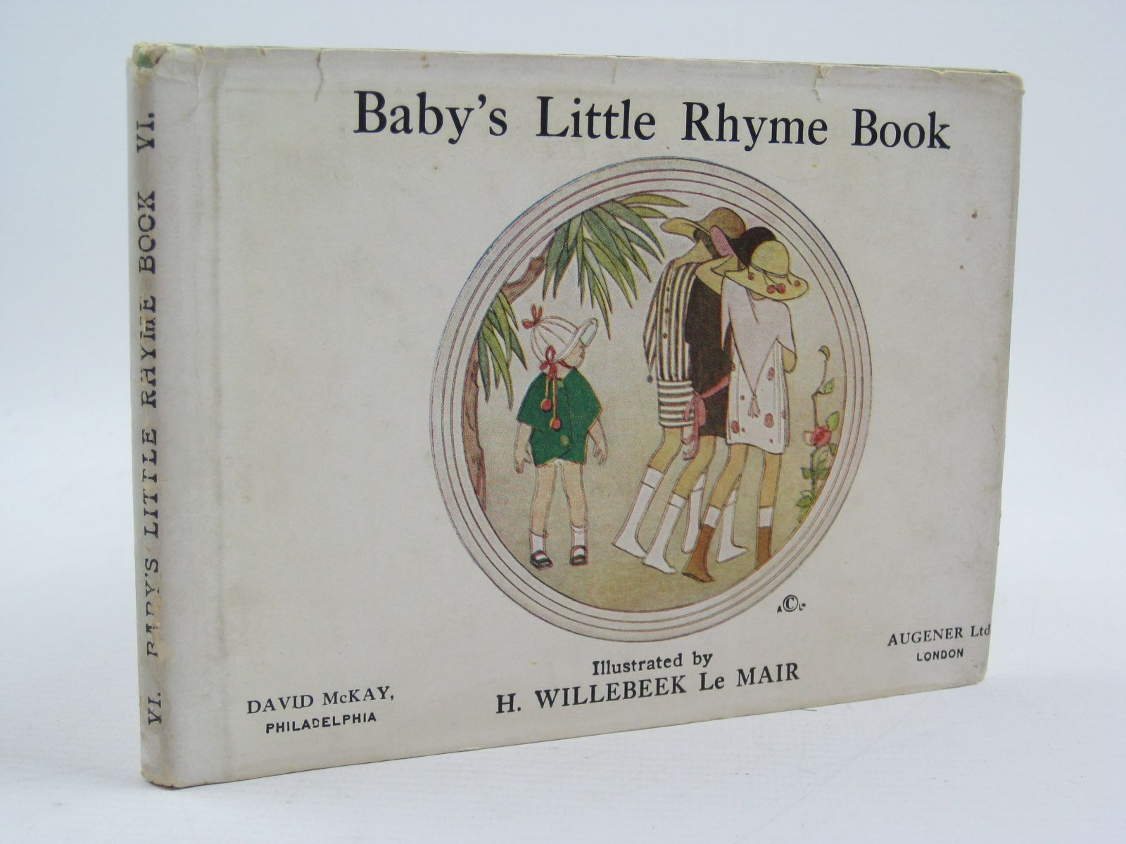 Photo of BABY'S LITTLE RHYME BOOK- Stock Number: 1507460
