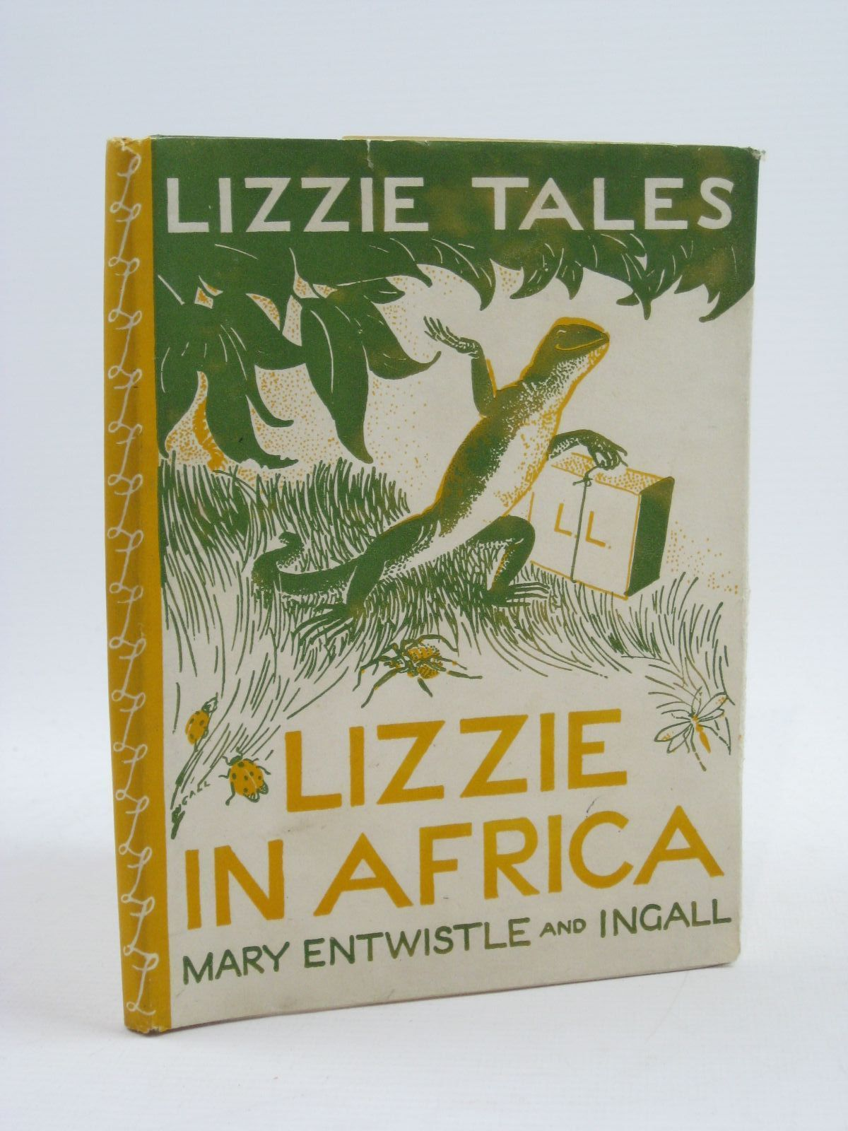 Photo of LIZZIE TALES: BOOK ONE LIZZIE IN AFRICA written by Entwistle, Mary illustrated by Ingall,  published by Edinburgh House Press (STOCK CODE: 1507464)  for sale by Stella & Rose's Books