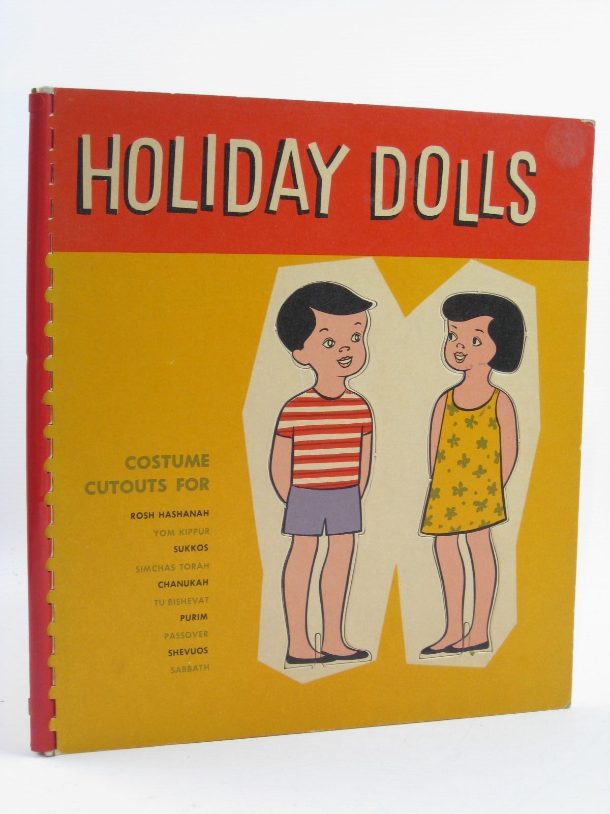 Photo of HOLIDAY DOLLS written by Garvey, Robert illustrated by Schloss, Ezekiel published by Ktav Publishing House (STOCK CODE: 1507474)  for sale by Stella & Rose's Books