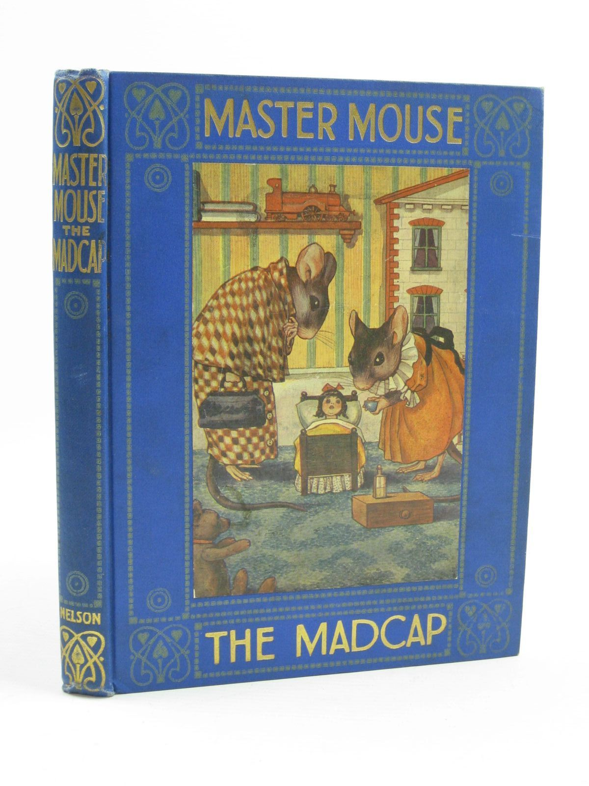 Photo of MASTER MOUSE THE MADCAP written by Clayton, Jacqueline illustrated by Clayton, Margaret published by Thomas Nelson & Sons (STOCK CODE: 1507494)  for sale by Stella & Rose's Books