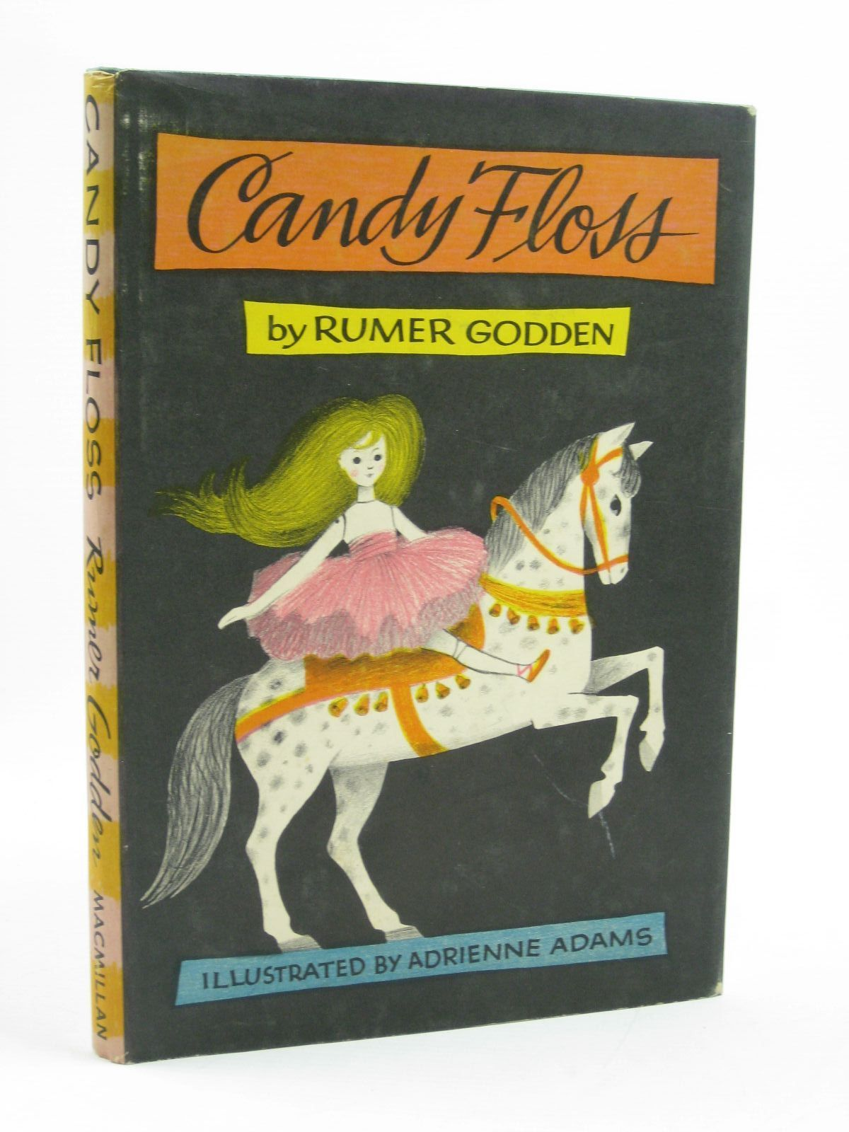 Photo of CANDY FLOSS written by Godden, Rumer illustrated by Adams, Adrienne published by Macmillan & Co. Ltd. (STOCK CODE: 1507500)  for sale by Stella & Rose's Books