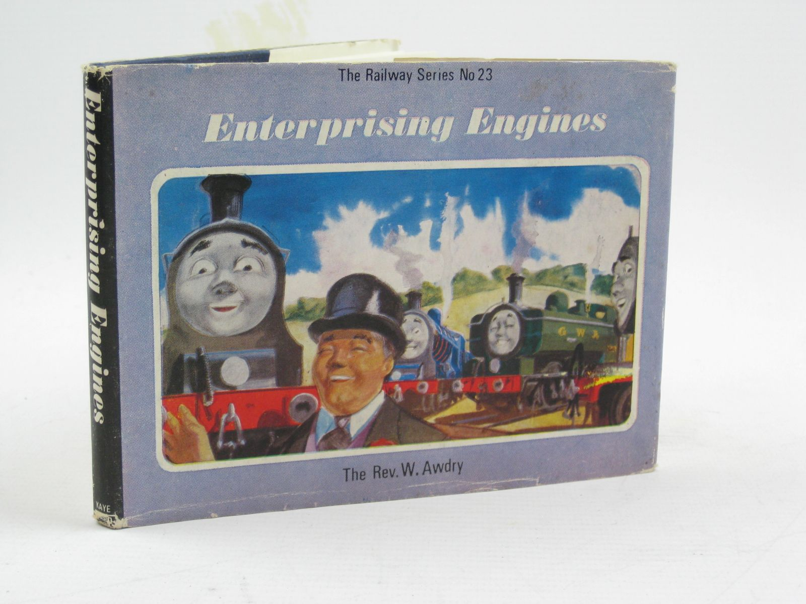 Photo of ENTERPRISING ENGINES written by Awdry, Rev. W. illustrated by Edwards, Gunvor