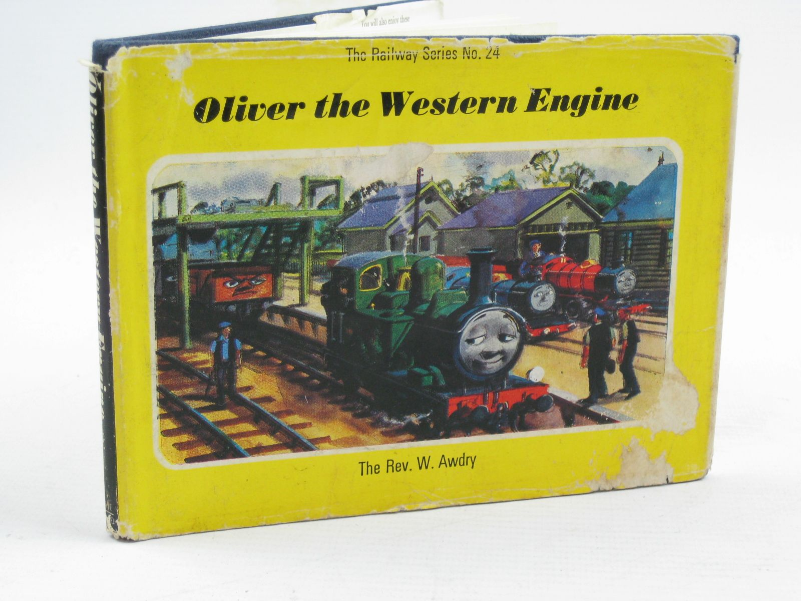Photo of OLIVER THE WESTERN ENGINE written by Awdry, Rev. W. illustrated by Edwards, Gunvor Edwards, Peter published by Kaye & Ward Ltd. (STOCK CODE: 1507540)  for sale by Stella & Rose's Books