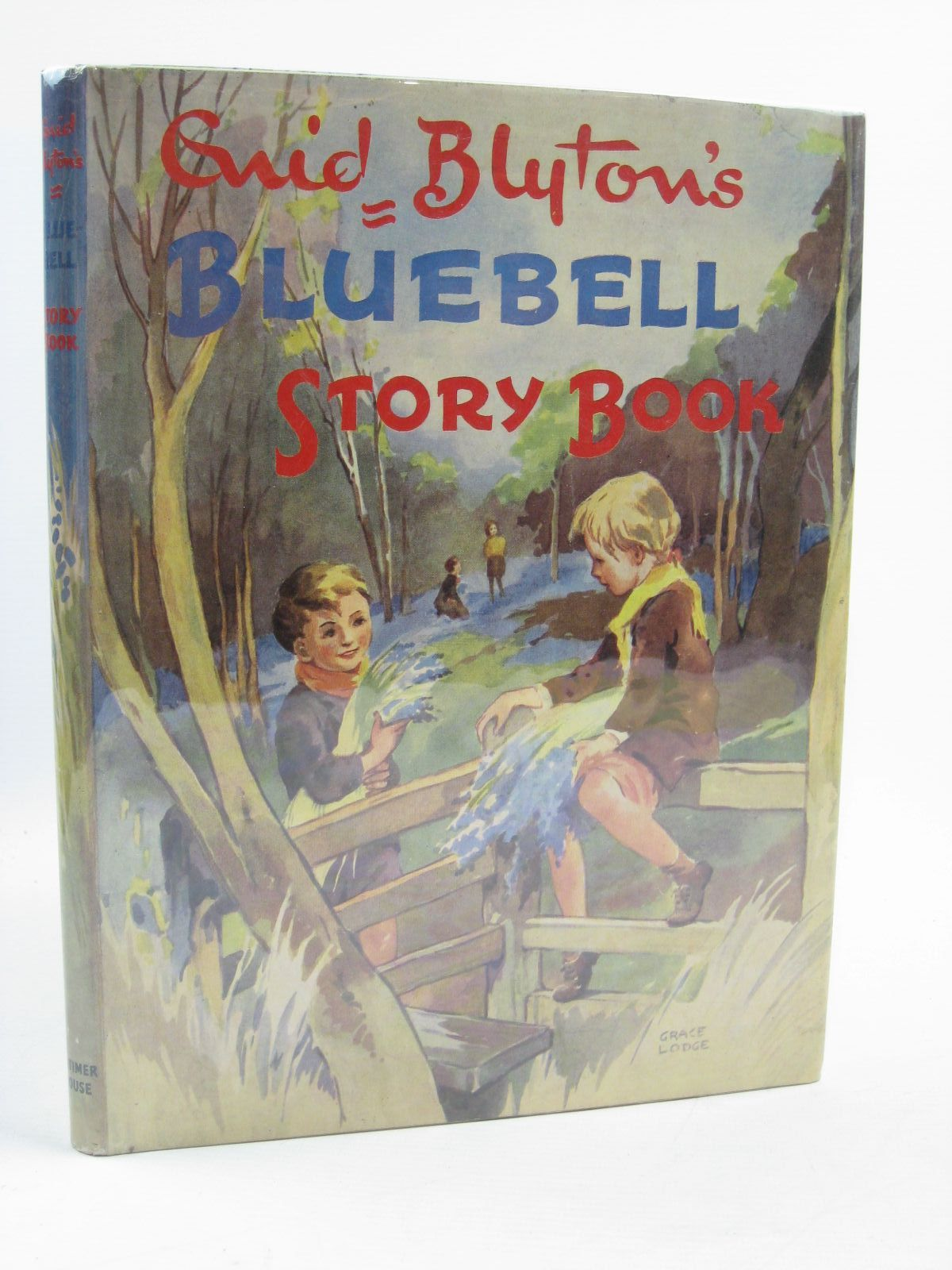 Photo of ENID BLYTON'S BLUEBELL STORY BOOK written by Blyton, Enid illustrated by Lodge, Grace published by Latimer House Ltd. (STOCK CODE: 1507542)  for sale by Stella & Rose's Books