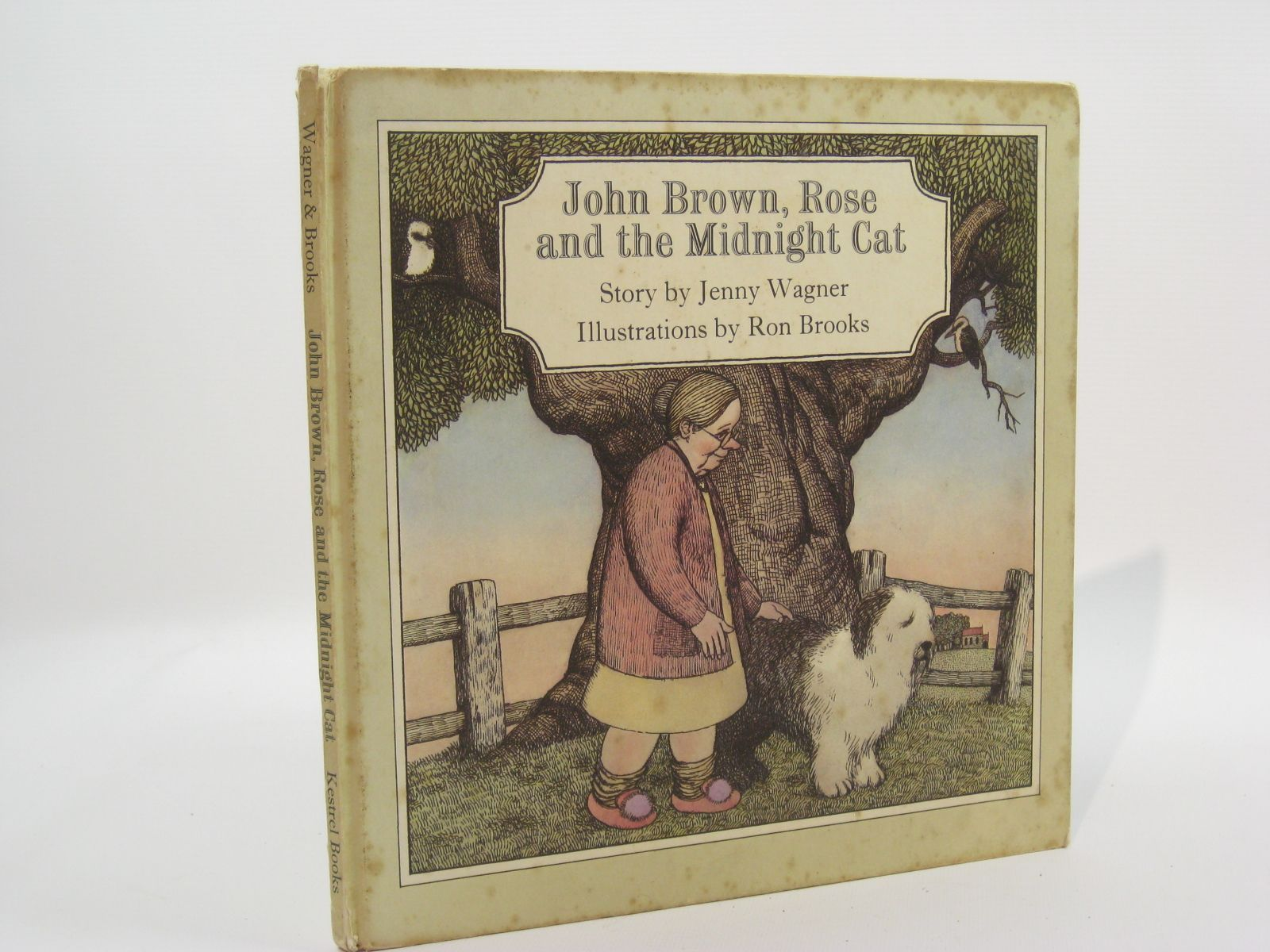 Photo of JOHN BROWN, ROSE AND THE MIDNIGHT CAT- Stock Number: 1507605