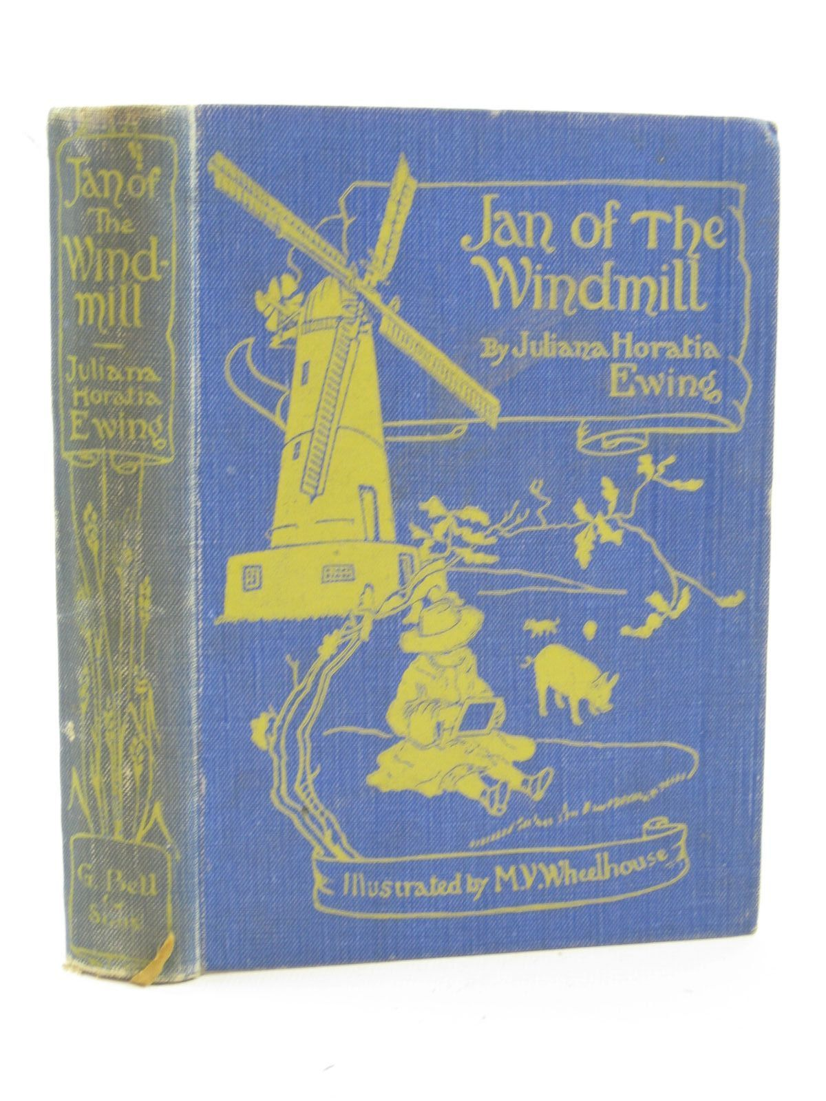 Photo of JAN OF THE WINDMILL written by Ewing, Juliana Horatia illustrated by Wheelhouse, M.V. published by G. Bell & Sons Ltd. (STOCK CODE: 1507639)  for sale by Stella & Rose's Books