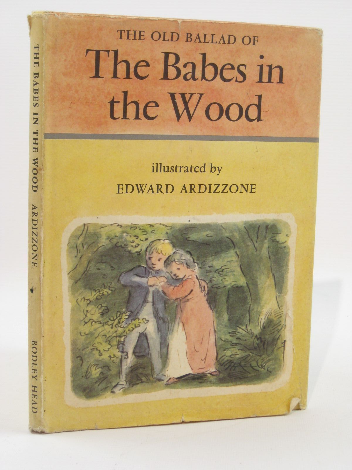 Photo of THE OLD BALLAD OF THE BABES IN THE WOOD written by Lines, Kathleen illustrated by Ardizzone, Edward published by The Bodley Head (STOCK CODE: 1507648)  for sale by Stella & Rose's Books