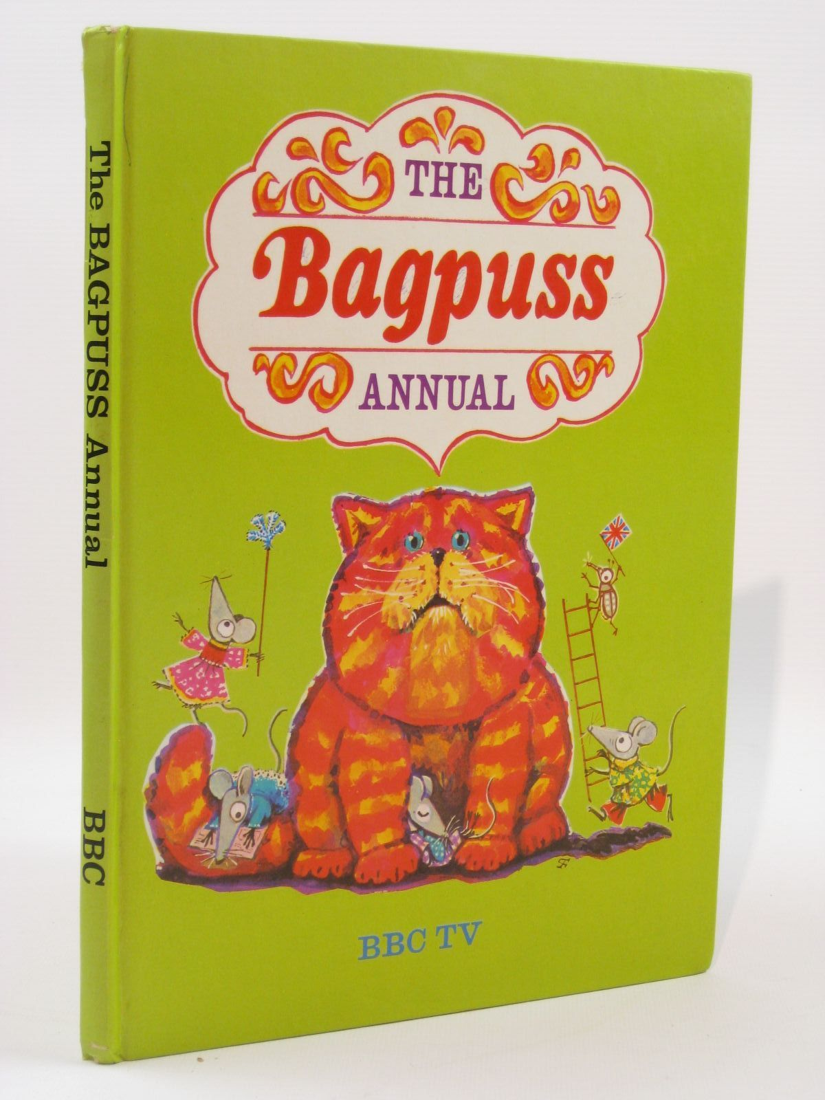 Photo of THE BAGPUSS ANNUAL written by Postgate, Oliver illustrated by Firmin, Peter published by BBC (STOCK CODE: 1507656)  for sale by Stella & Rose's Books