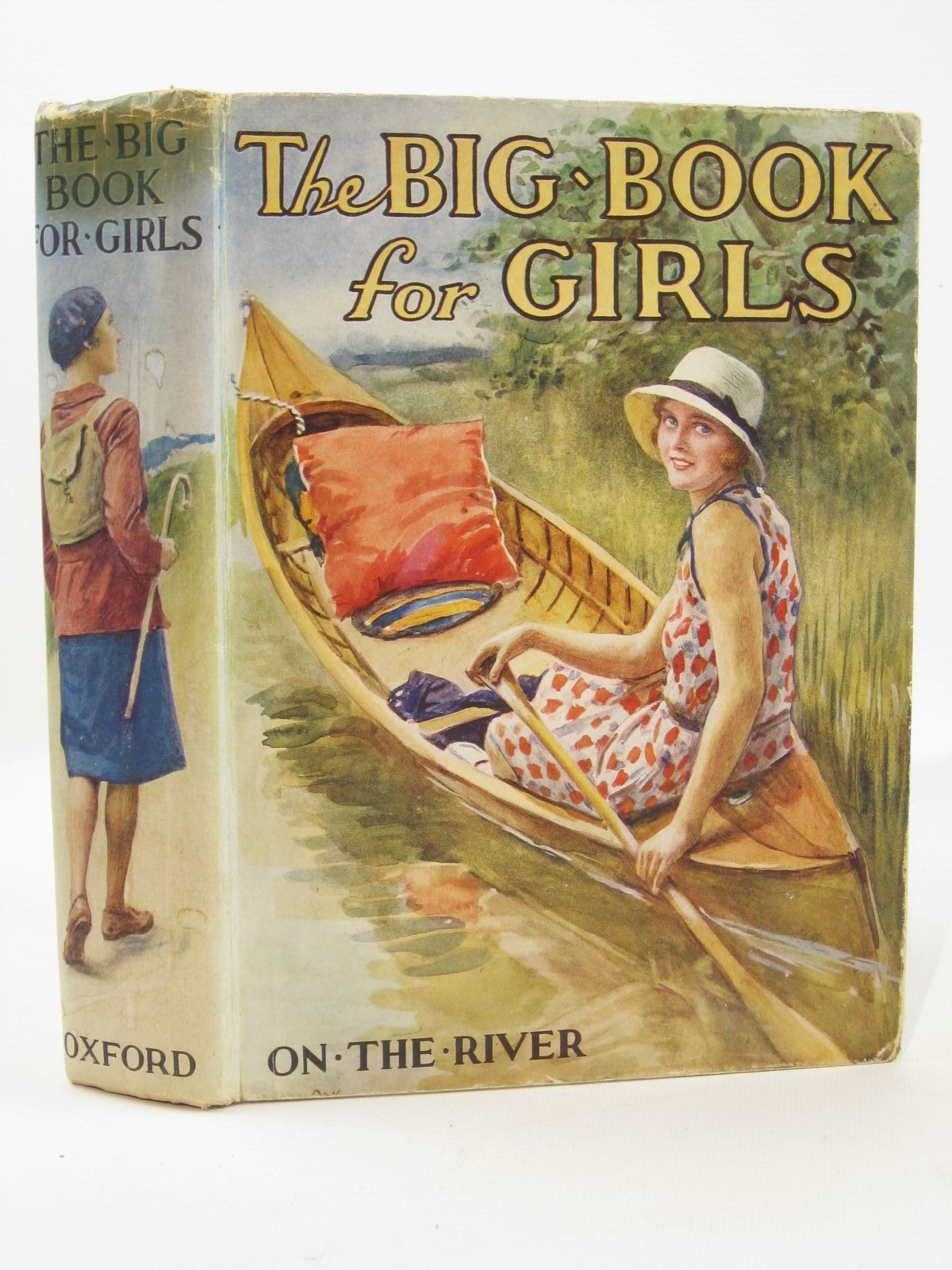 Photo of THE BIG BOOK FOR GIRLS written by Strang, Mrs. Herbert