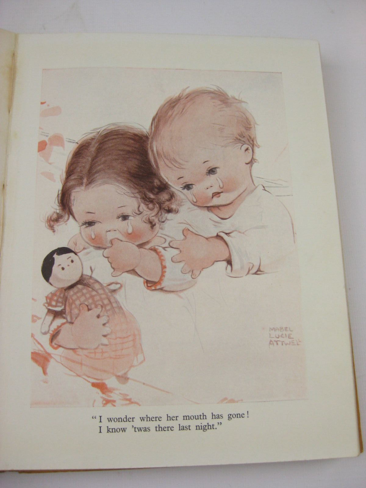 Photo of LUCIE ATTWELL'S CHILDREN'S BOOK written by Attwell, Mabel Lucie
