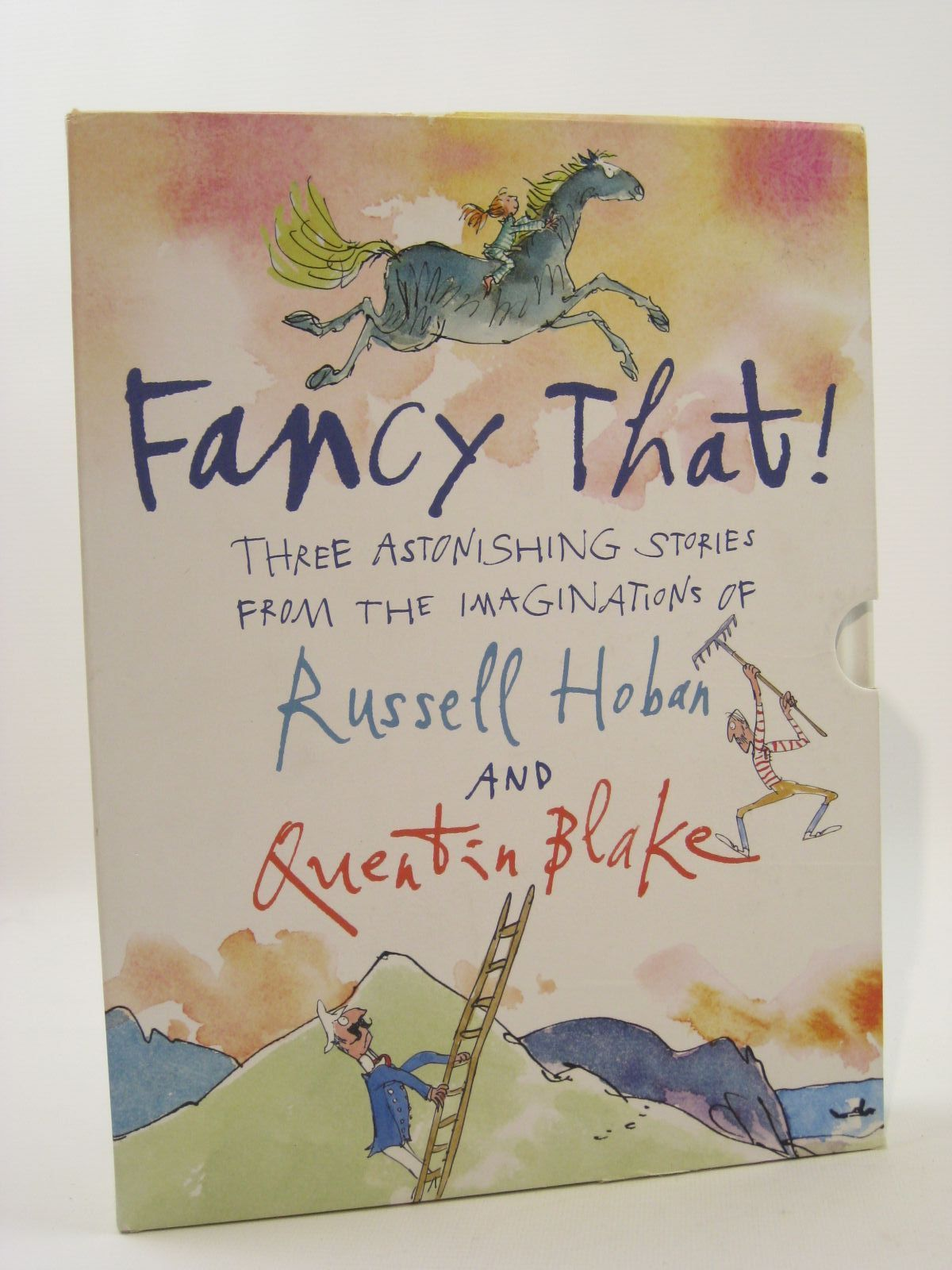 Photo of FANCY THAT! written by Hoban, Russell illustrated by Blake, Quentin published by Walker Books (STOCK CODE: 1507703)  for sale by Stella & Rose's Books