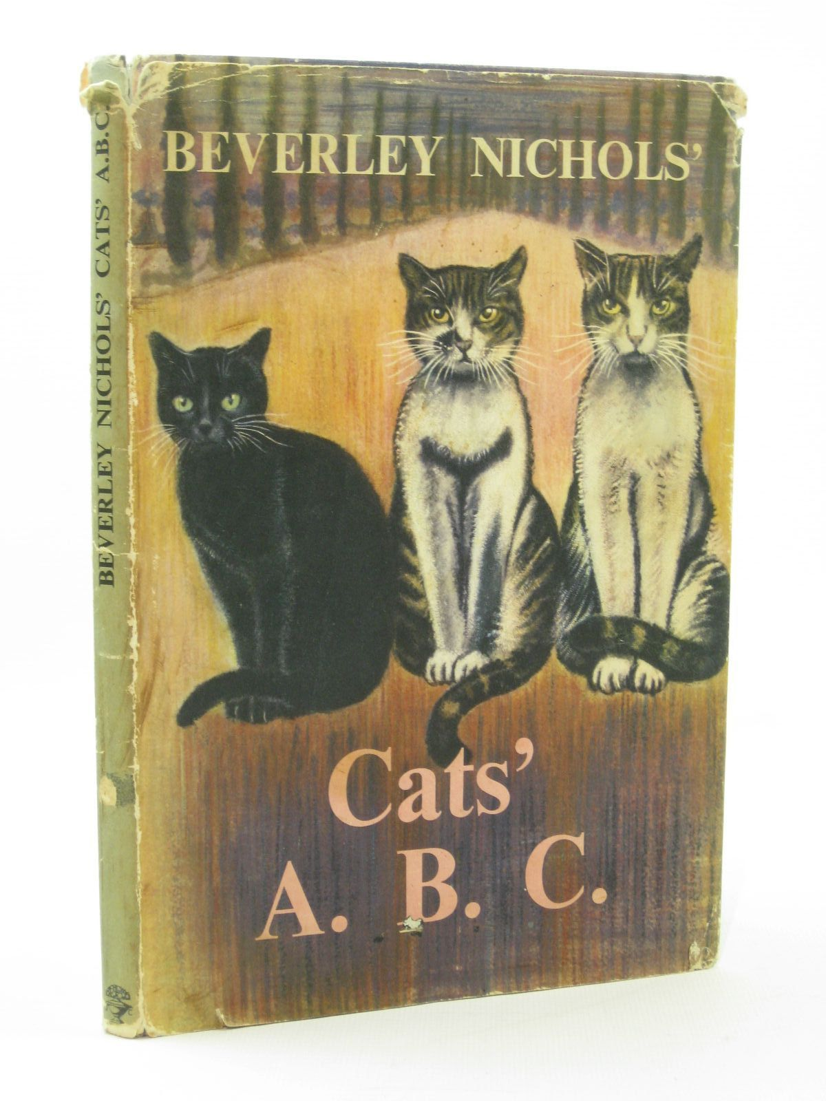 Photo of CATS' A.B.C. written by Nichols, Beverley illustrated by Sayer, Derrick published by Jonathan Cape (STOCK CODE: 1507709)  for sale by Stella & Rose's Books