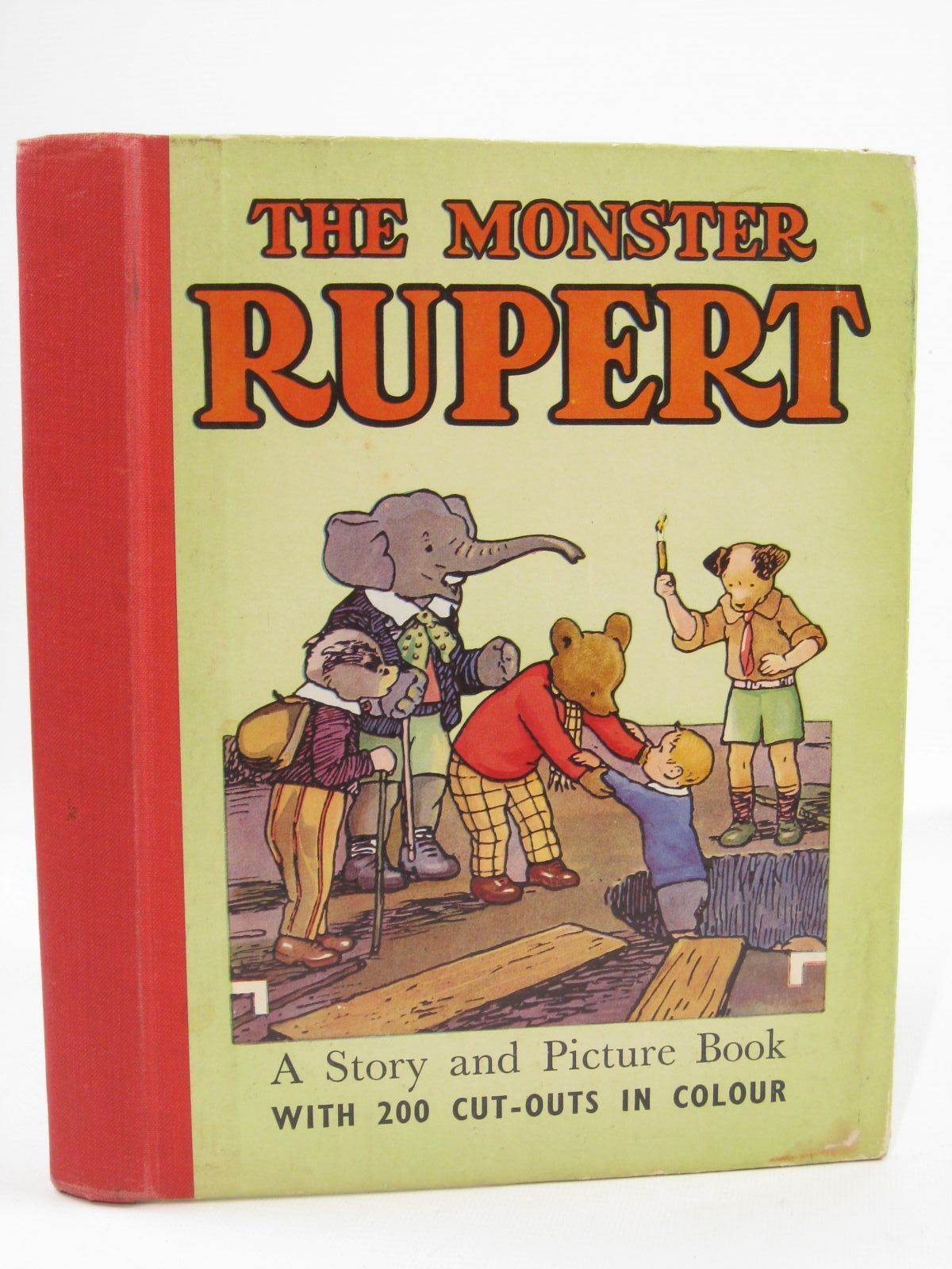 Photo of THE MONSTER RUPERT written by Tourtel, Mary illustrated by Tourtel, Mary published by Sampson Low, Marston & Co. Ltd. (STOCK CODE: 1507719)  for sale by Stella & Rose's Books