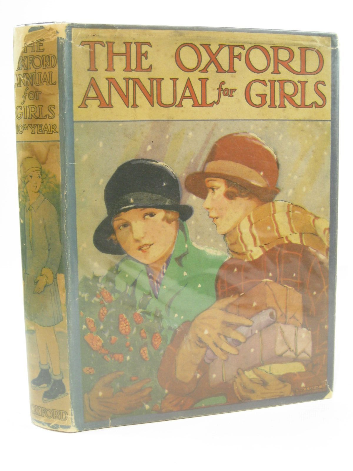 Photo of THE OXFORD ANNUAL FOR GIRLS 10TH YEAR written by Marchant, Bessie Rutley, C. Bernard Bruce, Dorita Fairlie Stowell, Thora et al, illustrated by Brock, C.E. Griffith, Joan Reeve, Mary Strange Peart, M.A. et al., published by Humphrey Milford, Oxford University Press (STOCK CODE: 1507723)  for sale by Stella & Rose's Books